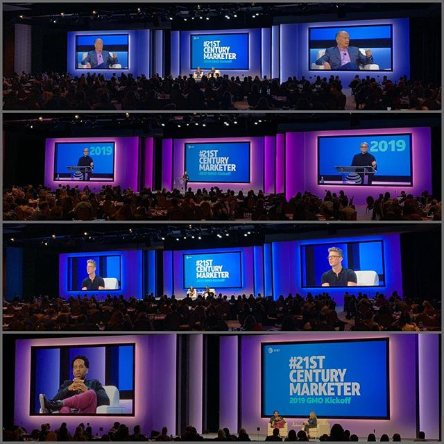 some of our team was in Dallas this week for the @att GMO kick off. @mwp.la produced the general session that featured @mavcarter @tyleroakley @bethcomstock and several other speakers. . . . . . #21stcenturymarketer #corporateevents #generalsession #eventproduction #liveevents #marketingevents #gmokickoff #showdirector #stagemanager #storytelling
