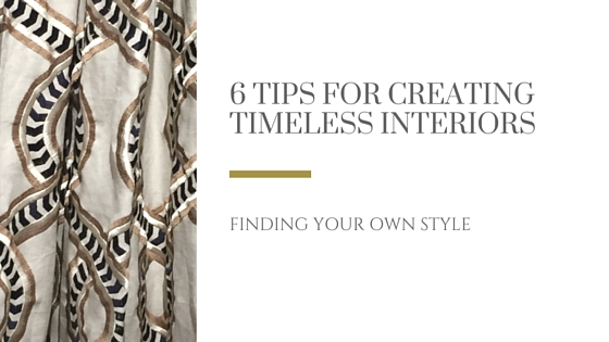 6 tips for creating timeless interiors title image