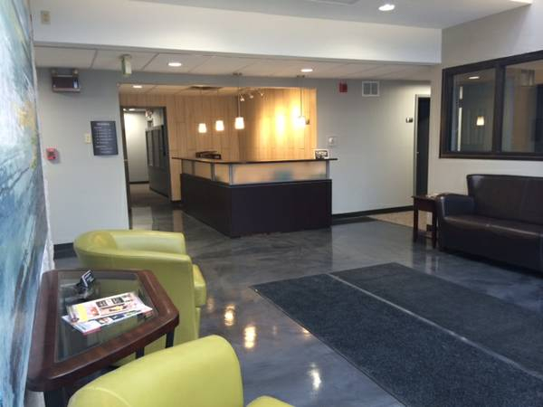Enjoy the Lobby as you wait for your appointment
