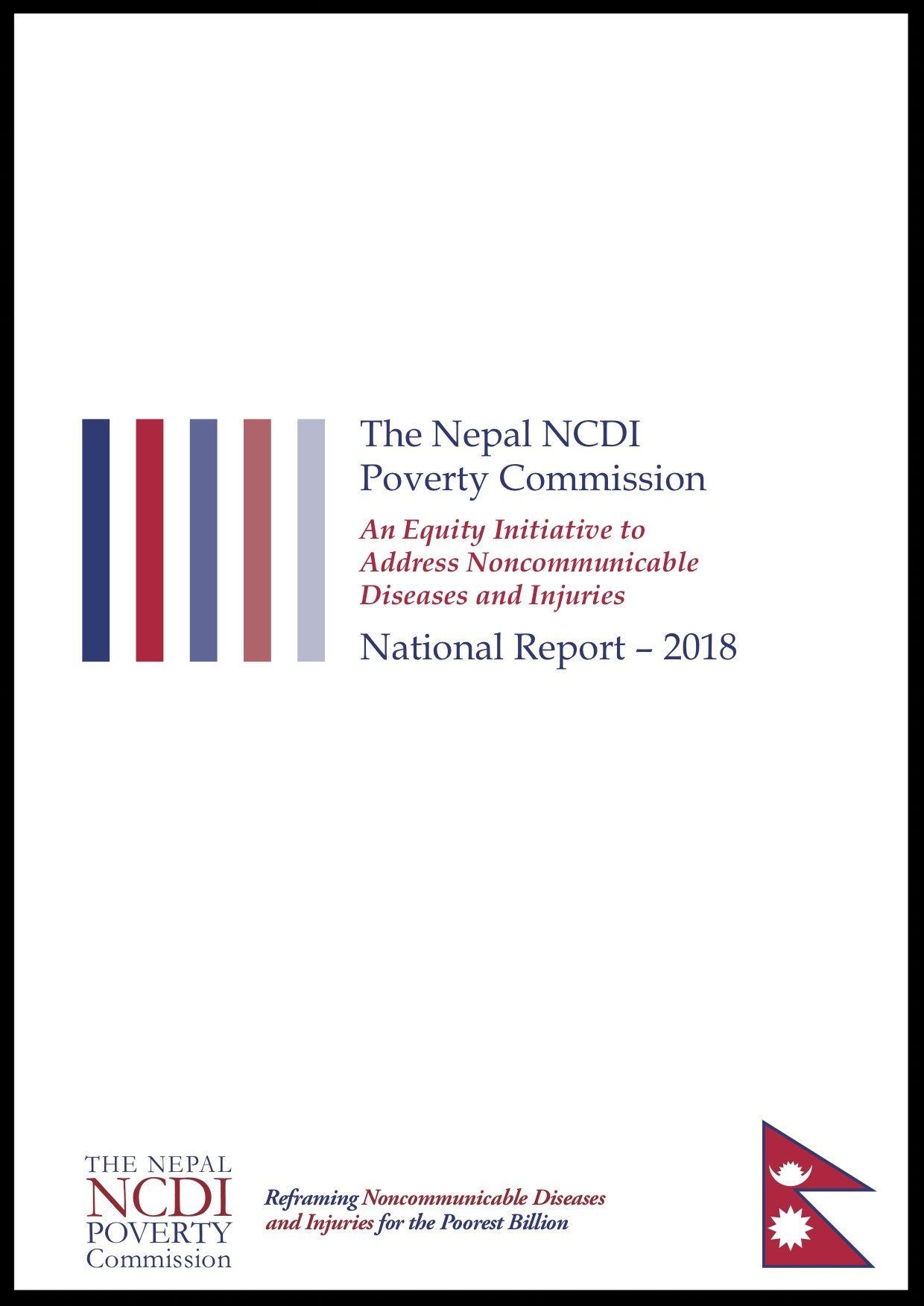 Nepal ncdi poverty Commission 2018 report