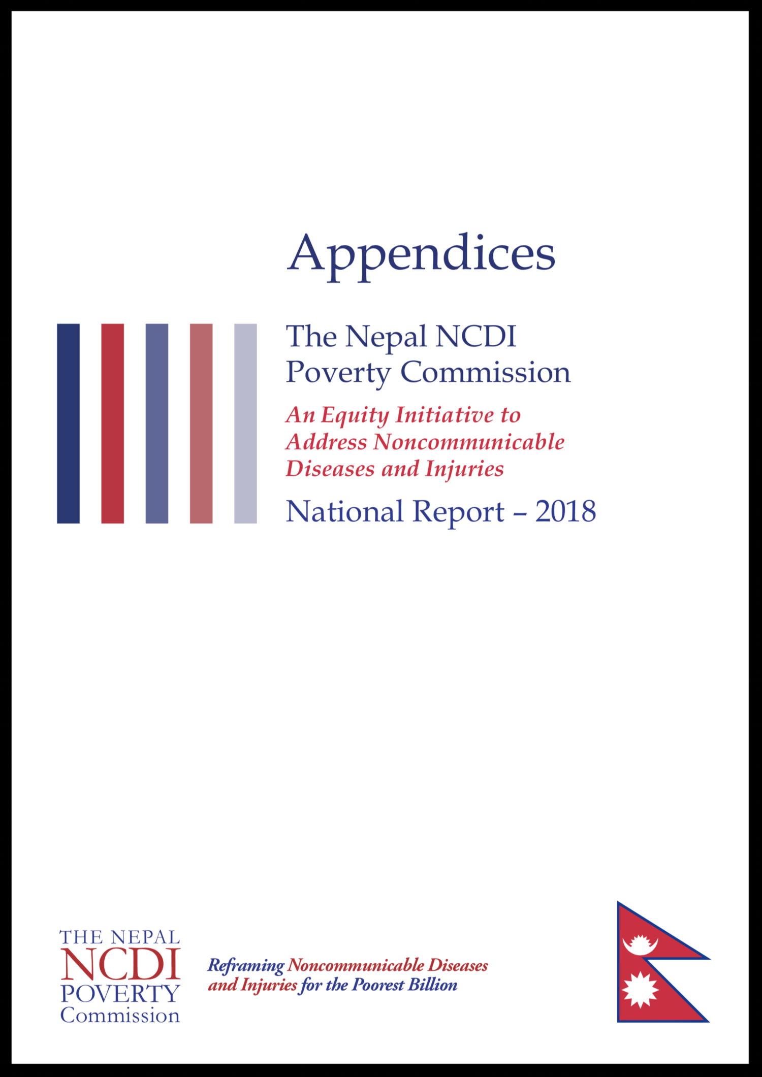 Nepal NCDI Poverty COmmission 2018 Report Appendices