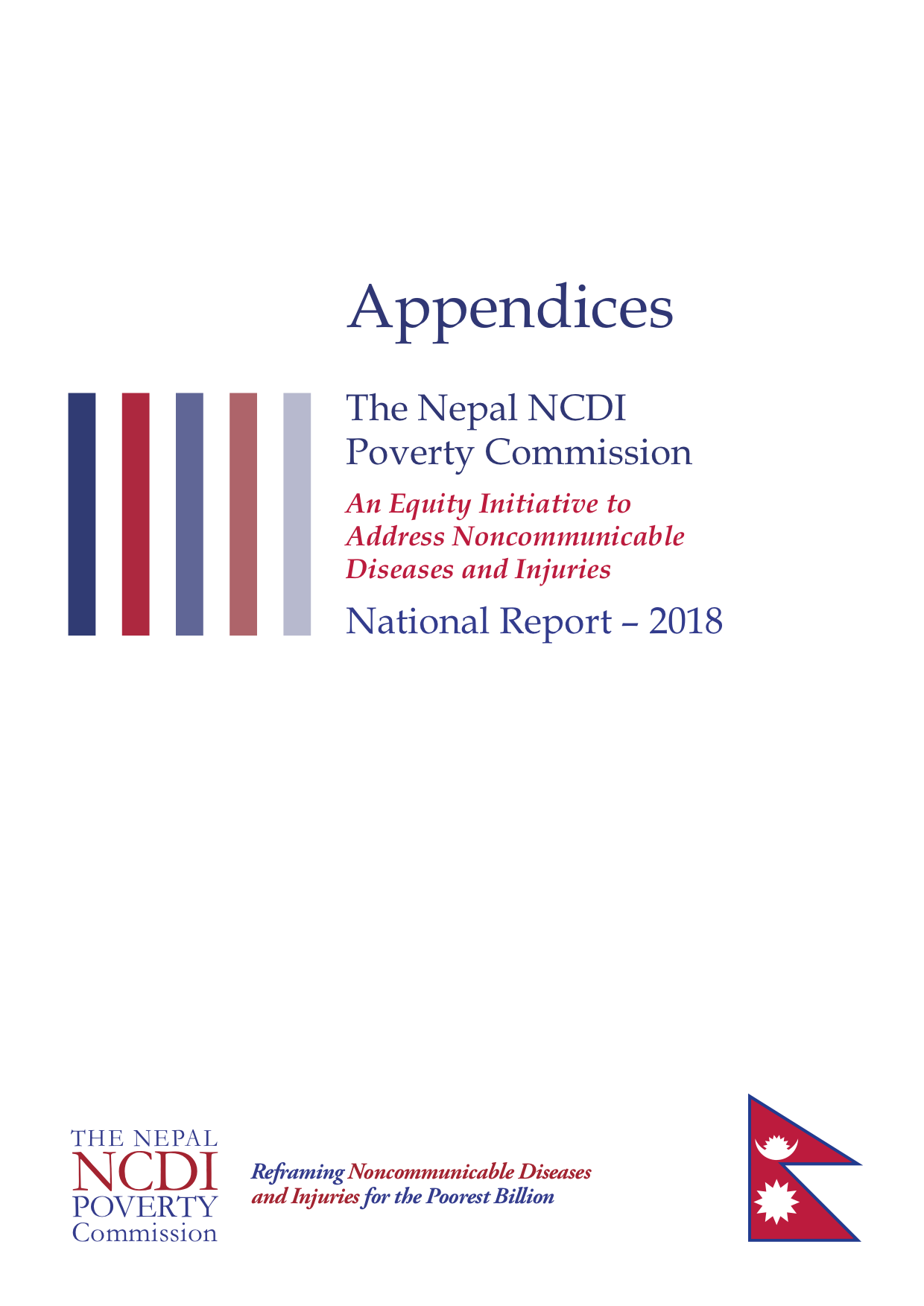 Nepal NCDI Poverty Commission Appendices
