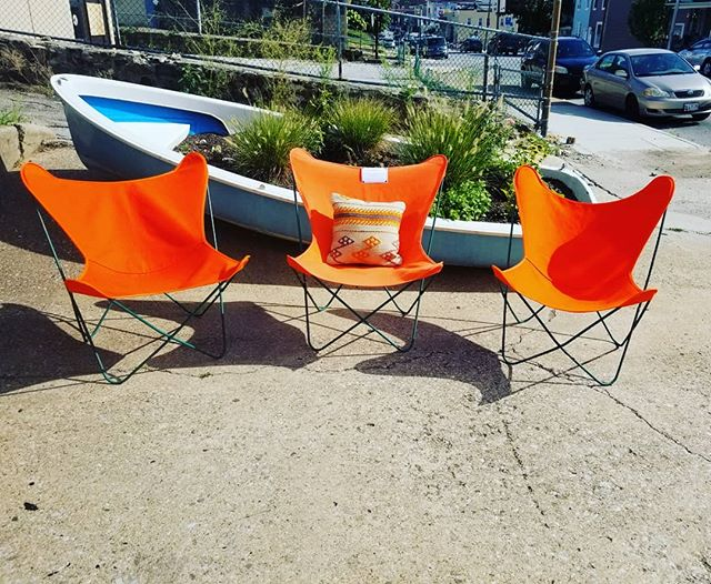 Summer Clearance Sale!! Set of 3 iconic Mid Century Butterfly chairs. Now $395 was $900