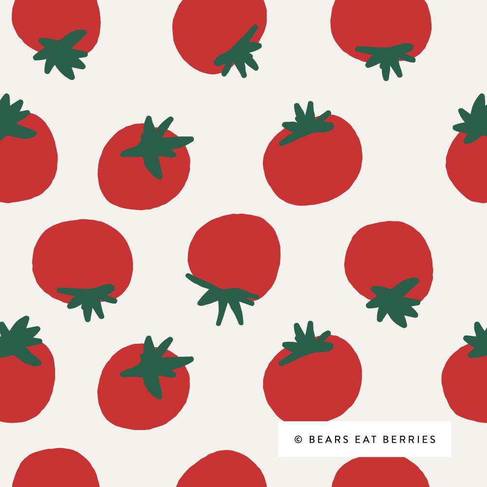 summer tomato pattern