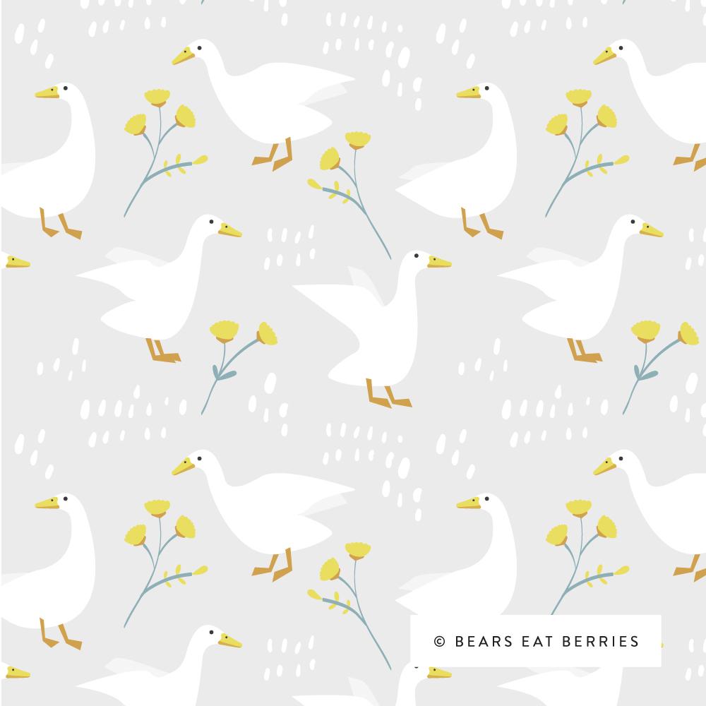 farm ducks pattern