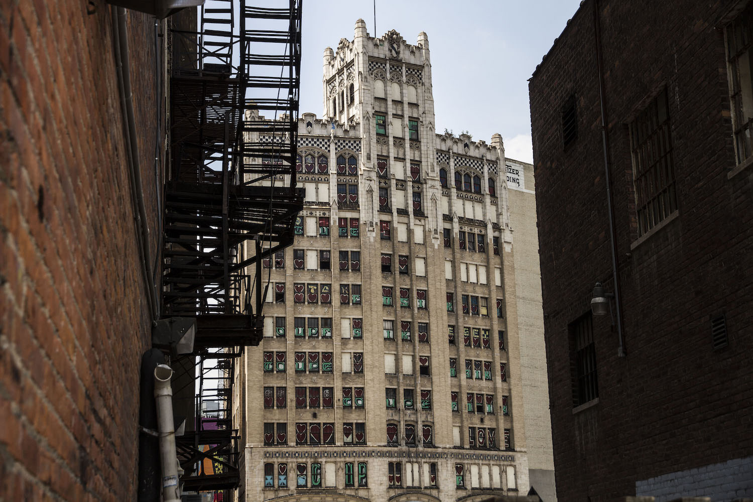 The Metropolitan Building, once a high-rise office building in downtown Detroit closed in 1977.  Since, it is an abandoned piece of art.  The Downtown Development Authority has approved a $32 million makeover to reopen the building as an extended-stay hotel with ground-floor retail.