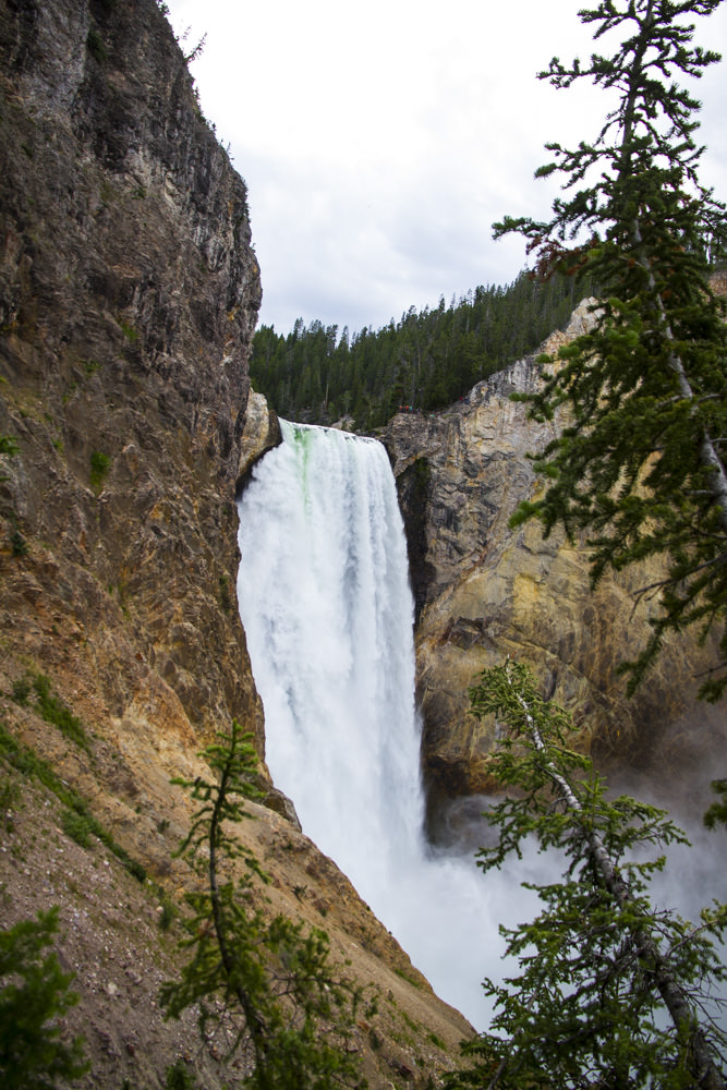 The Lower Falls from a different angle. Really worth hiking in the area to soak in the different point of views.