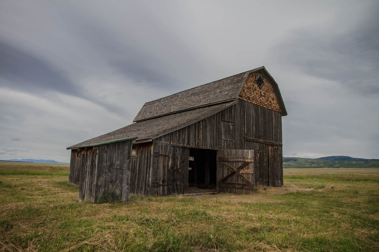 The barns are majestic.