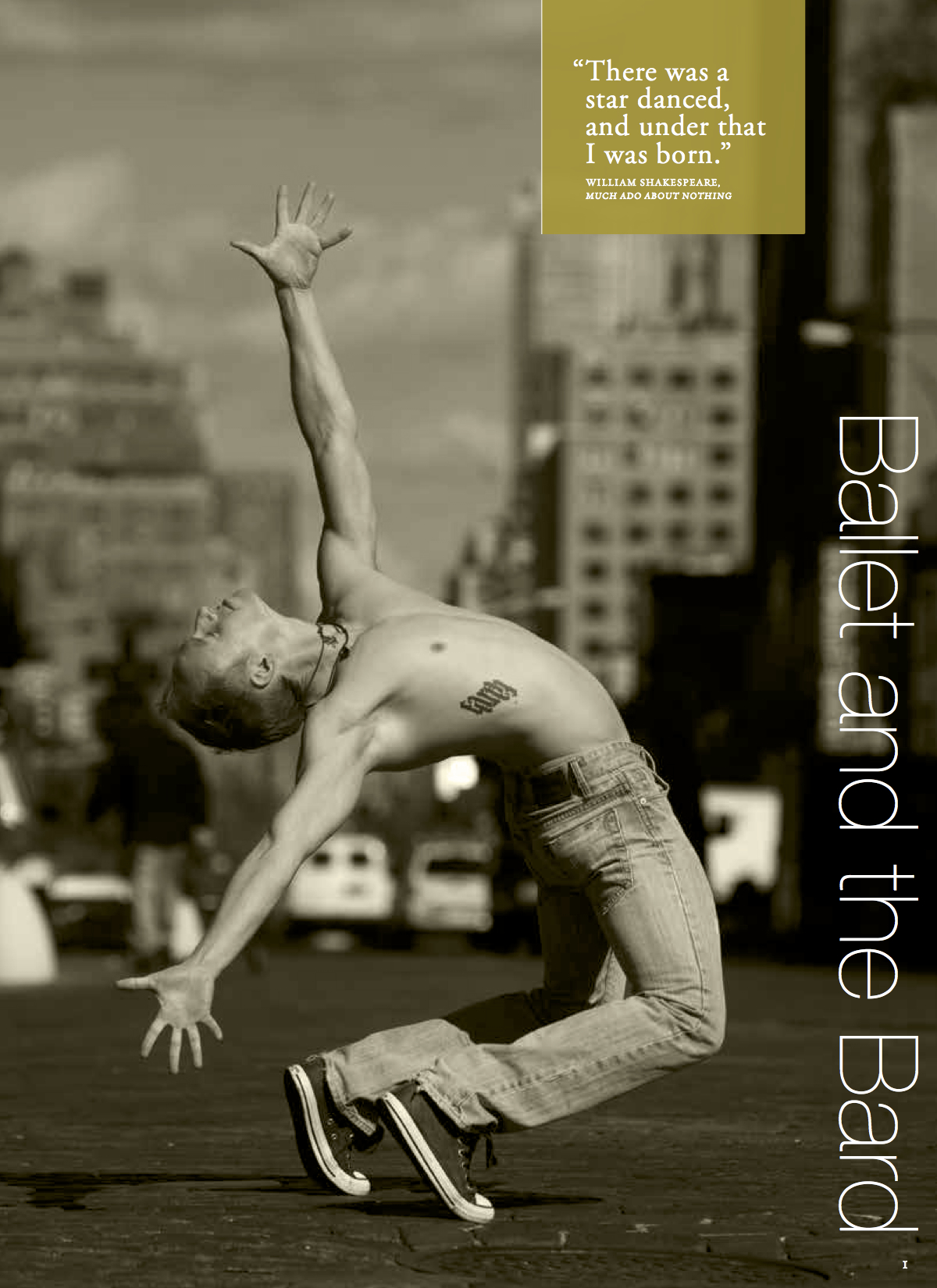 Houston Ballet / Season Brochure