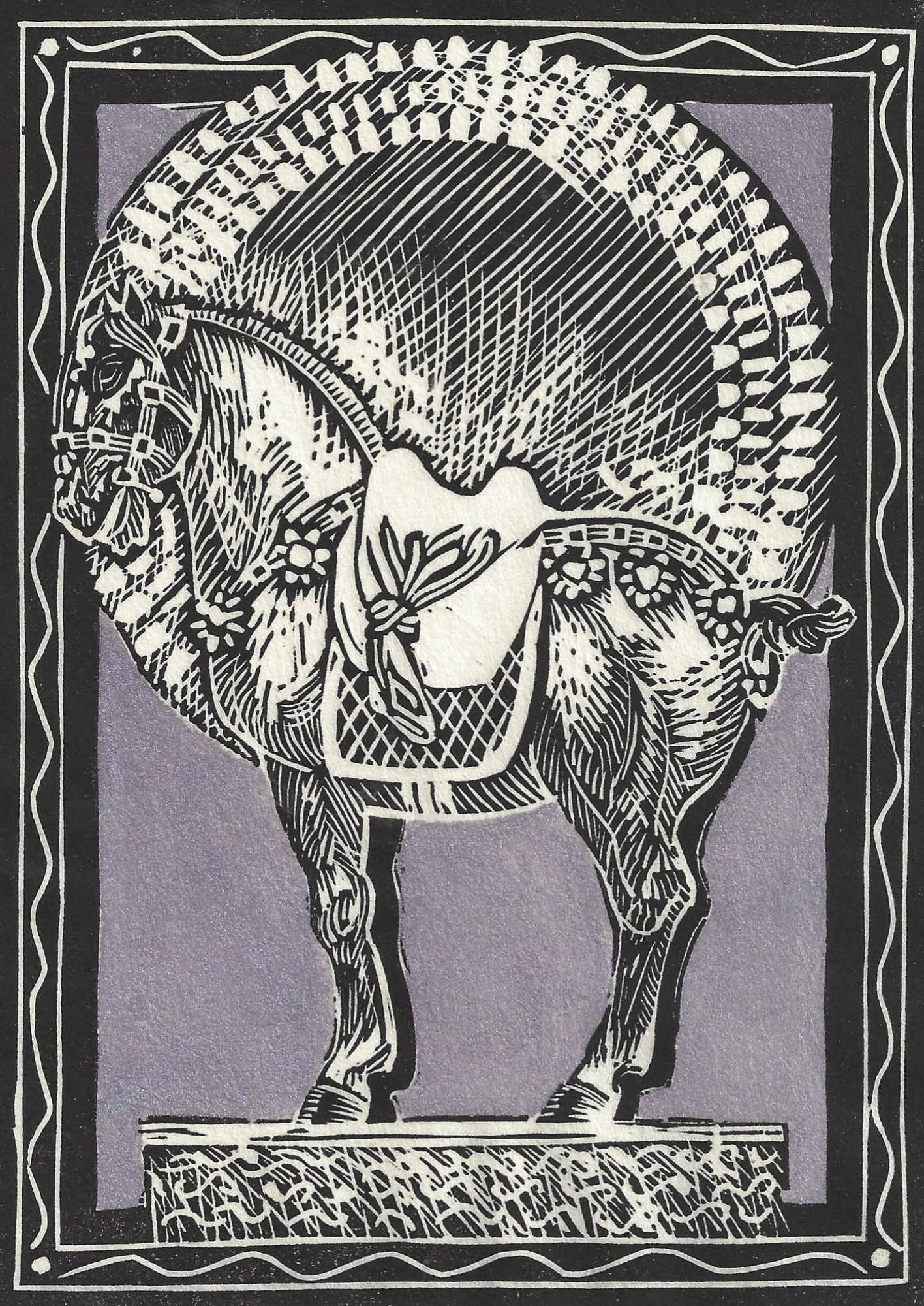 """""""Chang's T'ang Horse"""""""