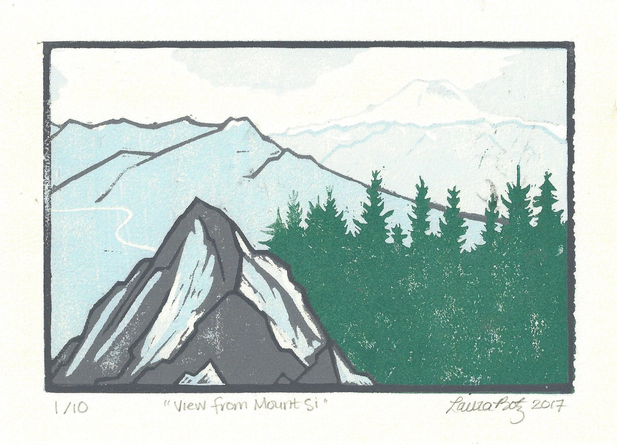 """View from Mount Si"""