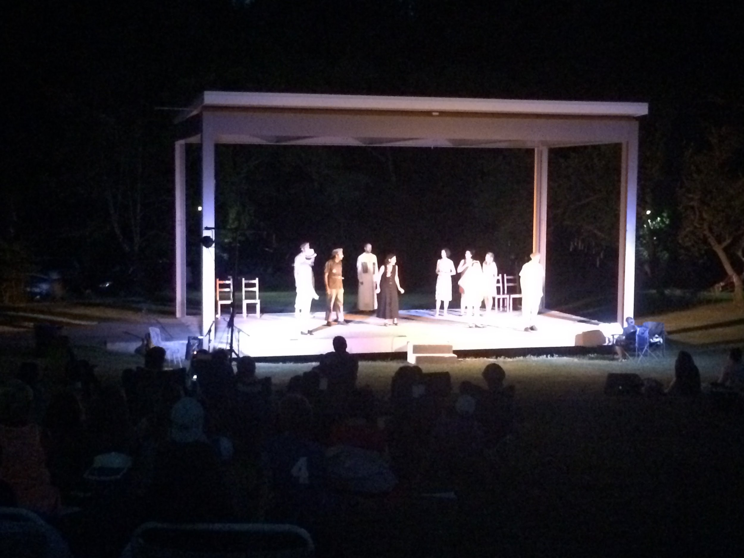 LAst year's production of  Much Ado About Nothing