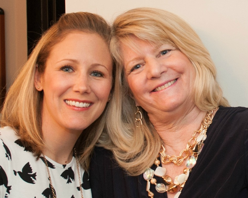 CO-FOUNDERS JENNIFER MARSHALL AND ANNE MARIE AMES, BACKSTAGE AT THE INAUGURAL THIS IS MY BRAVE SHOW, MAY 18, 2014 - PHOTO CREDIT: SHOOT PHOTO INC