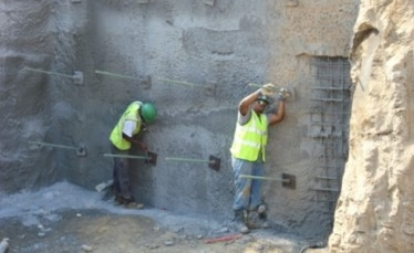 Soil Nail Retaining Wall