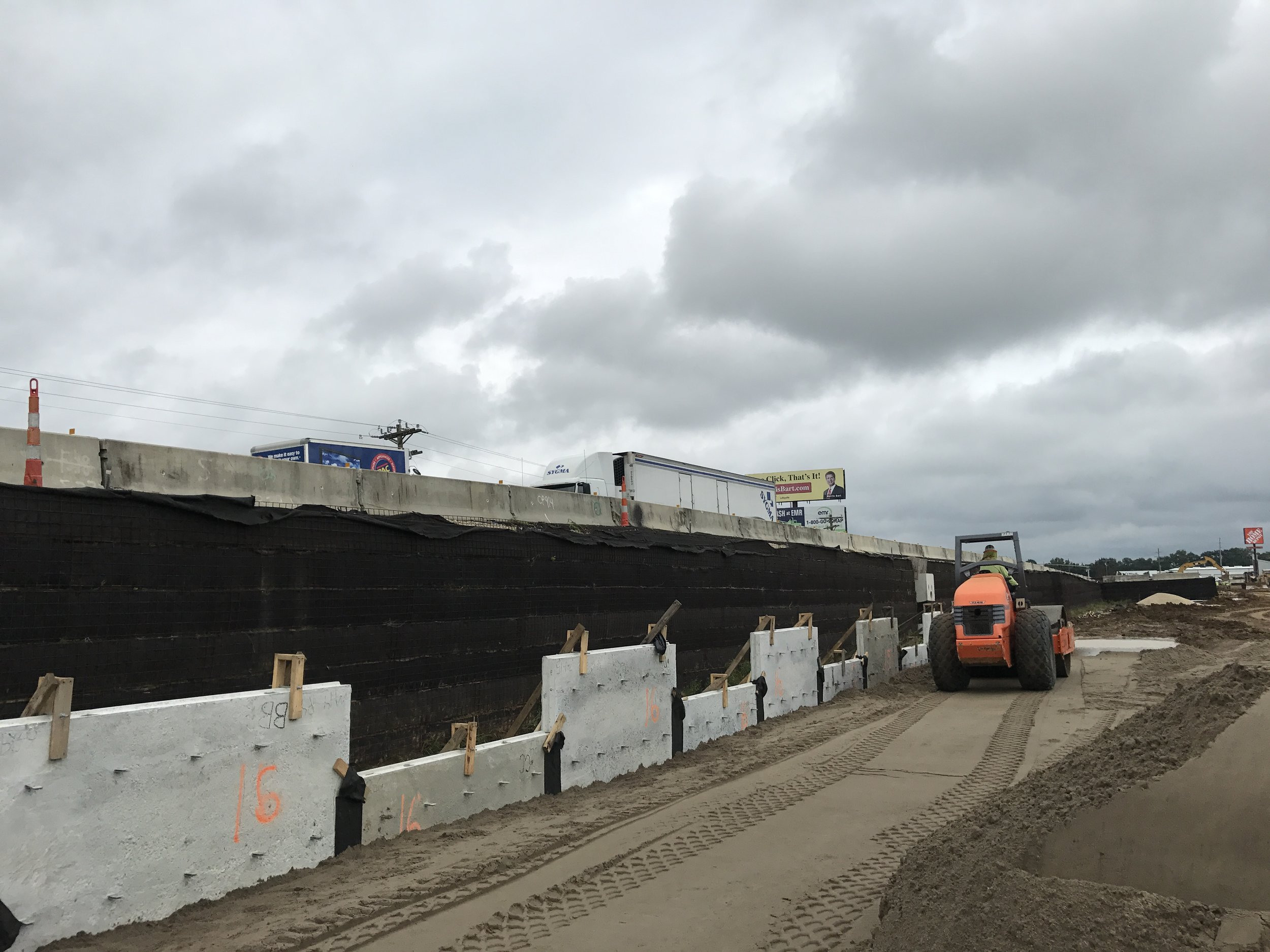 MSE Panel Retaining Wall