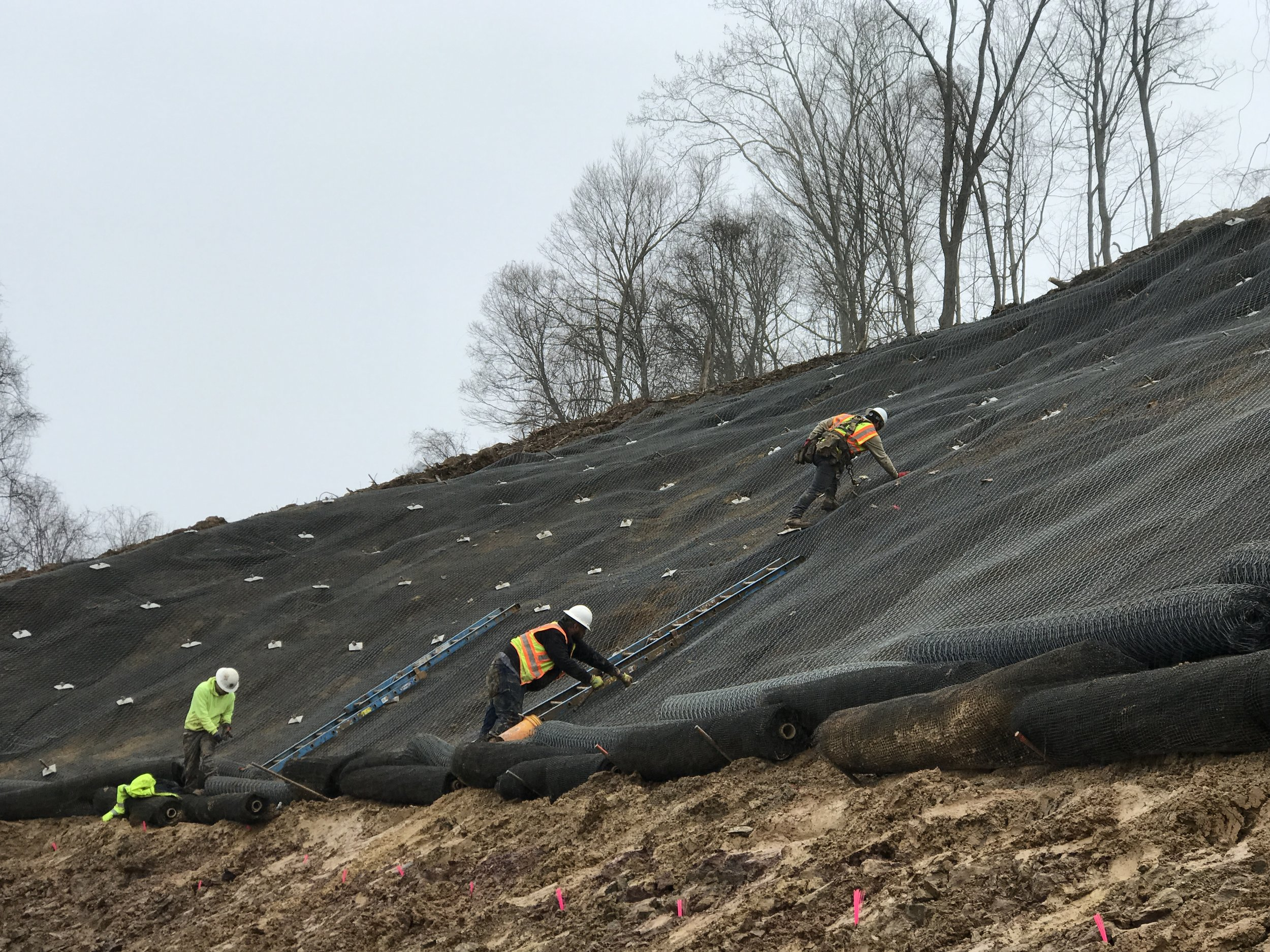 Soil Nail Slope Stabilization