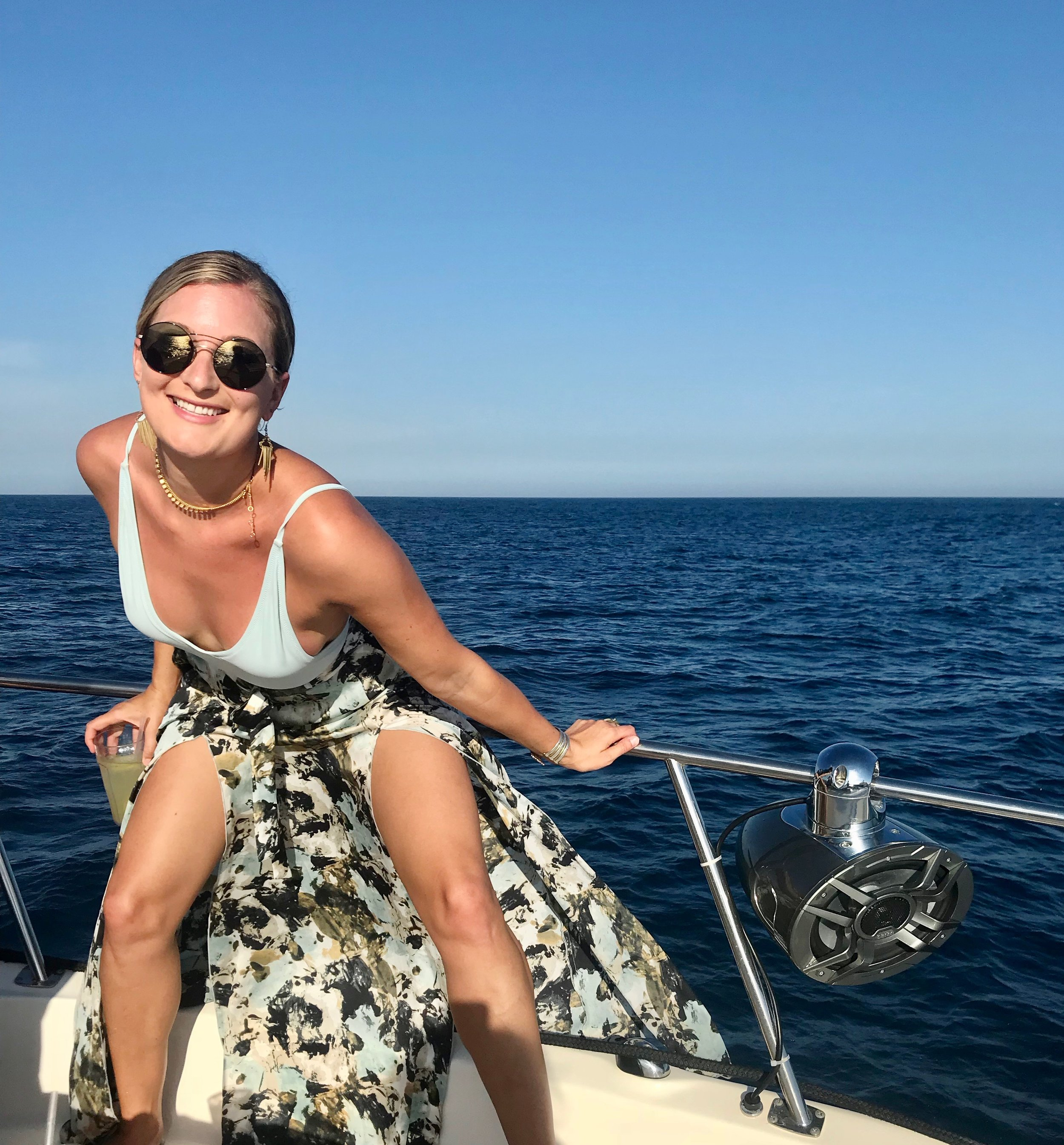 Cabo San Lucas, Mexico.  No, my days are not all traced in cloud-light with sunfish licking at the yachts hull, but this smile has stayed with me. Because chasing what you love brings a sustained bliss that far outlasts a temporary vaca.