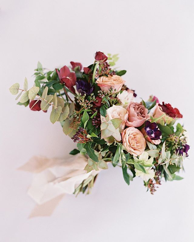 A hand tied bouquet for Hannah.