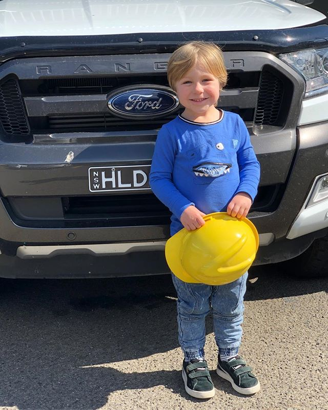 Our littlest intern 👷🏻‍♂️ . . . . . . . . #construction #contractorsofinsta #contractor #engineer #engineering #toolsofthetrade #heavyequipment #concrete #civilengineer #structures #civil #building #civilconstruction #heavymachinery #constructionequipment #crane #constructionlife #constructionsite #build #architecture #sustainability #craneporn #craneaddicted #cranelove #logistics #internationalconstruction #cranesclub #cranelife #reinforcing #infrastructure