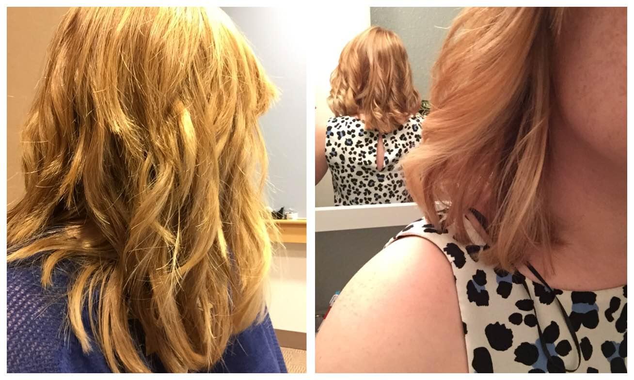A few good hair days using the Beachwaver and Oribe Apres Beach Wave and Shine spray.