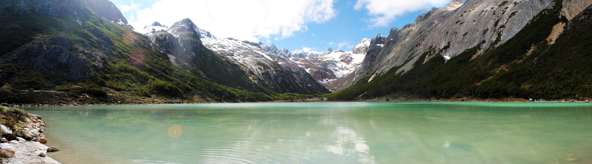 Laguna Esmeralda, Tierra Del Fuego, Ushuaia, Argentina - Maggie a la Mode