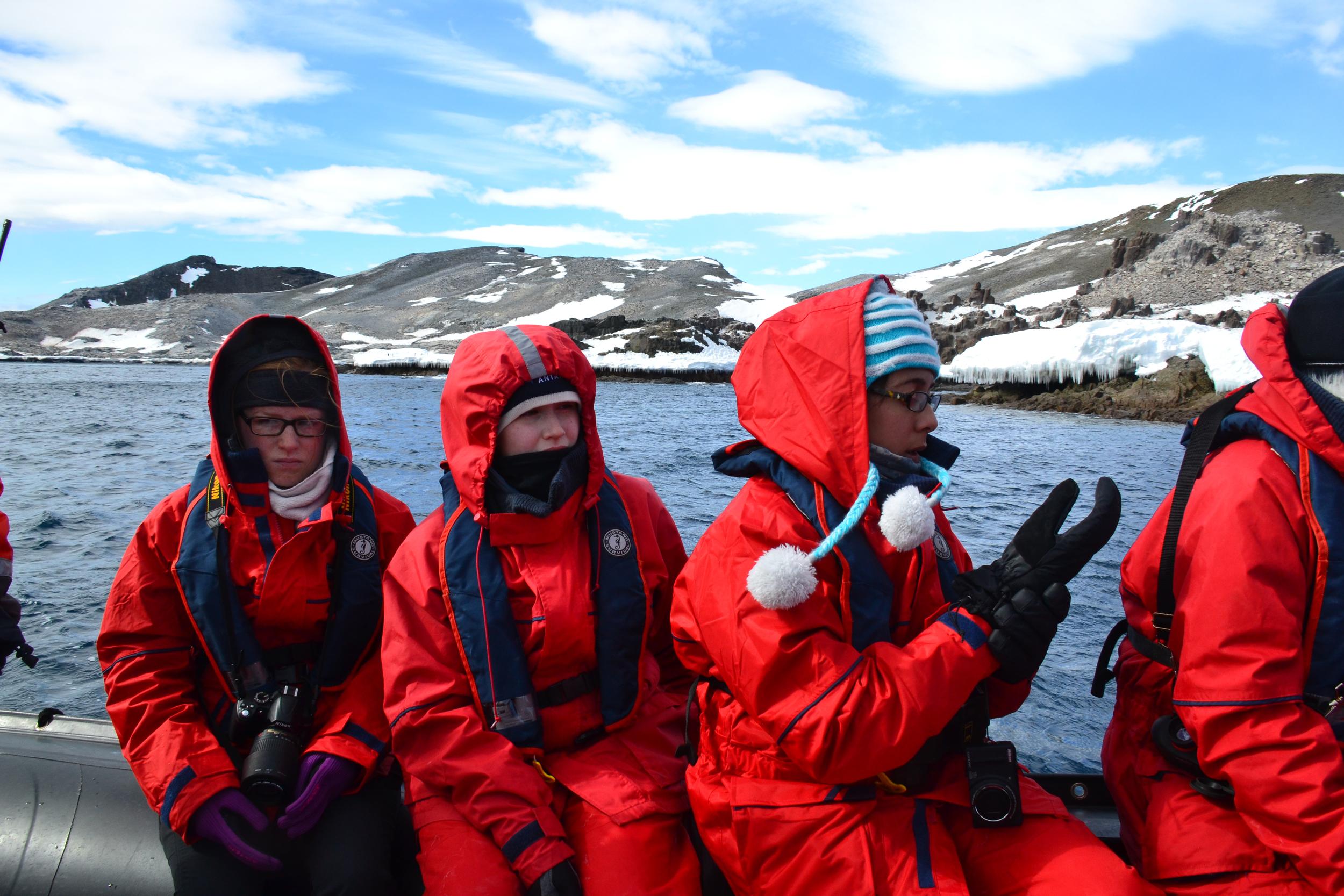 Brown Bluff, Antarctica, One Ocean, Zodiac - Maggie a la Mode