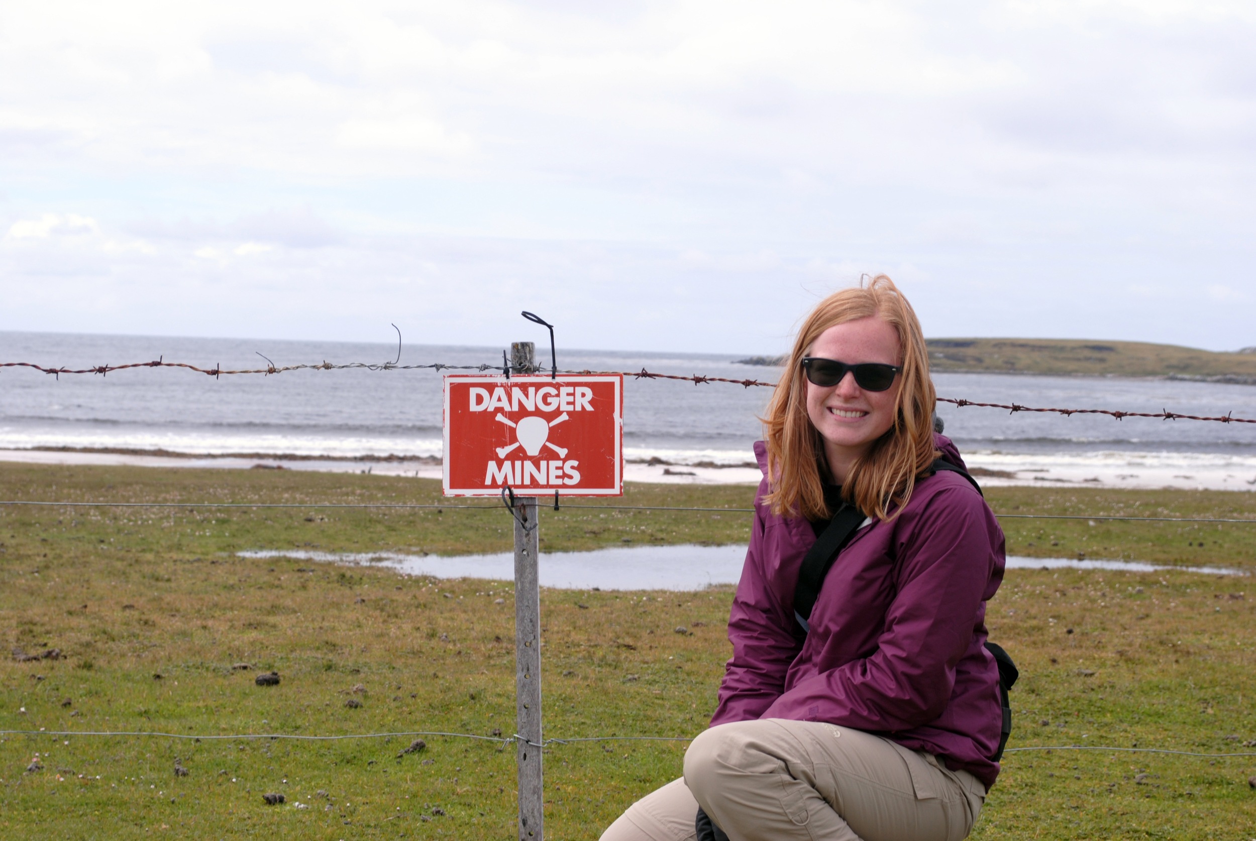 Falkland Island land mines, Antarctica - Maggie a la Mode