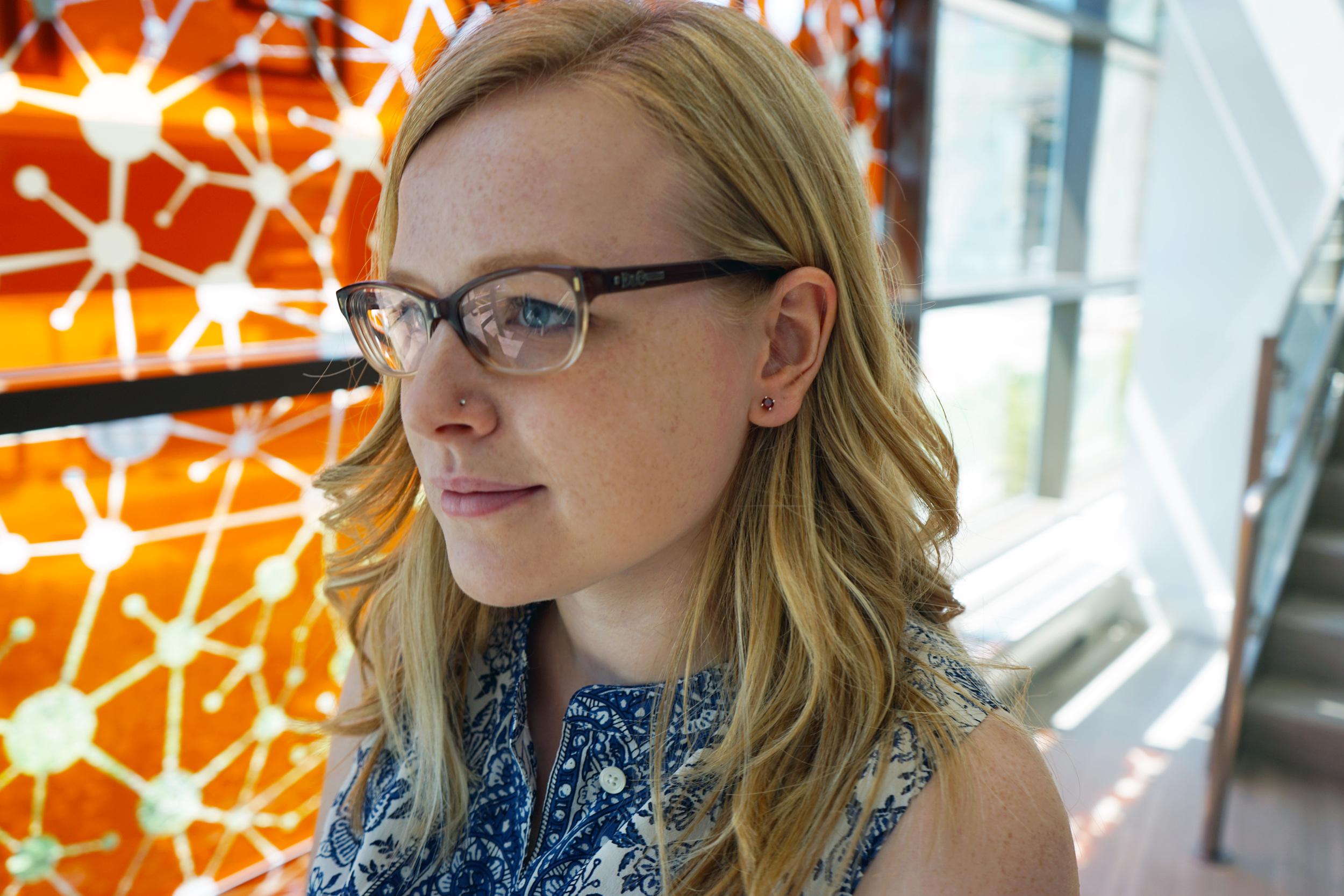 Maggie a la Mode - Diamond Jewelry with Anjolee Jewelry, Garnet stud earrings