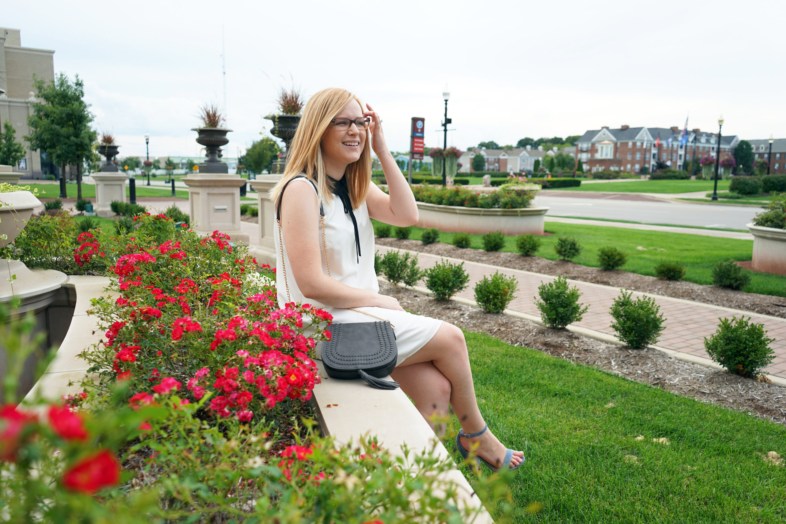 Urban Expressions Jessa crossbody saddle bag - Maggie a la Mode