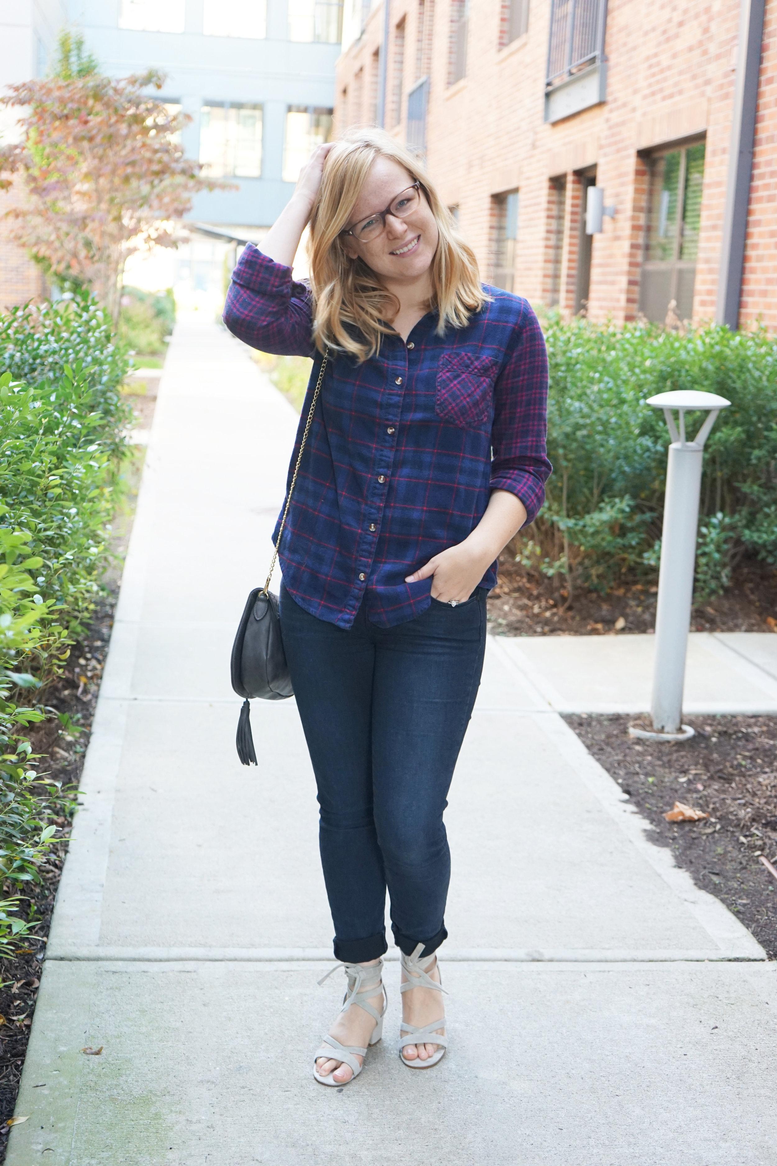 Maggie a la Mode - Dressing in Fall When it Doesn't Feel Like Fall 6.JPG