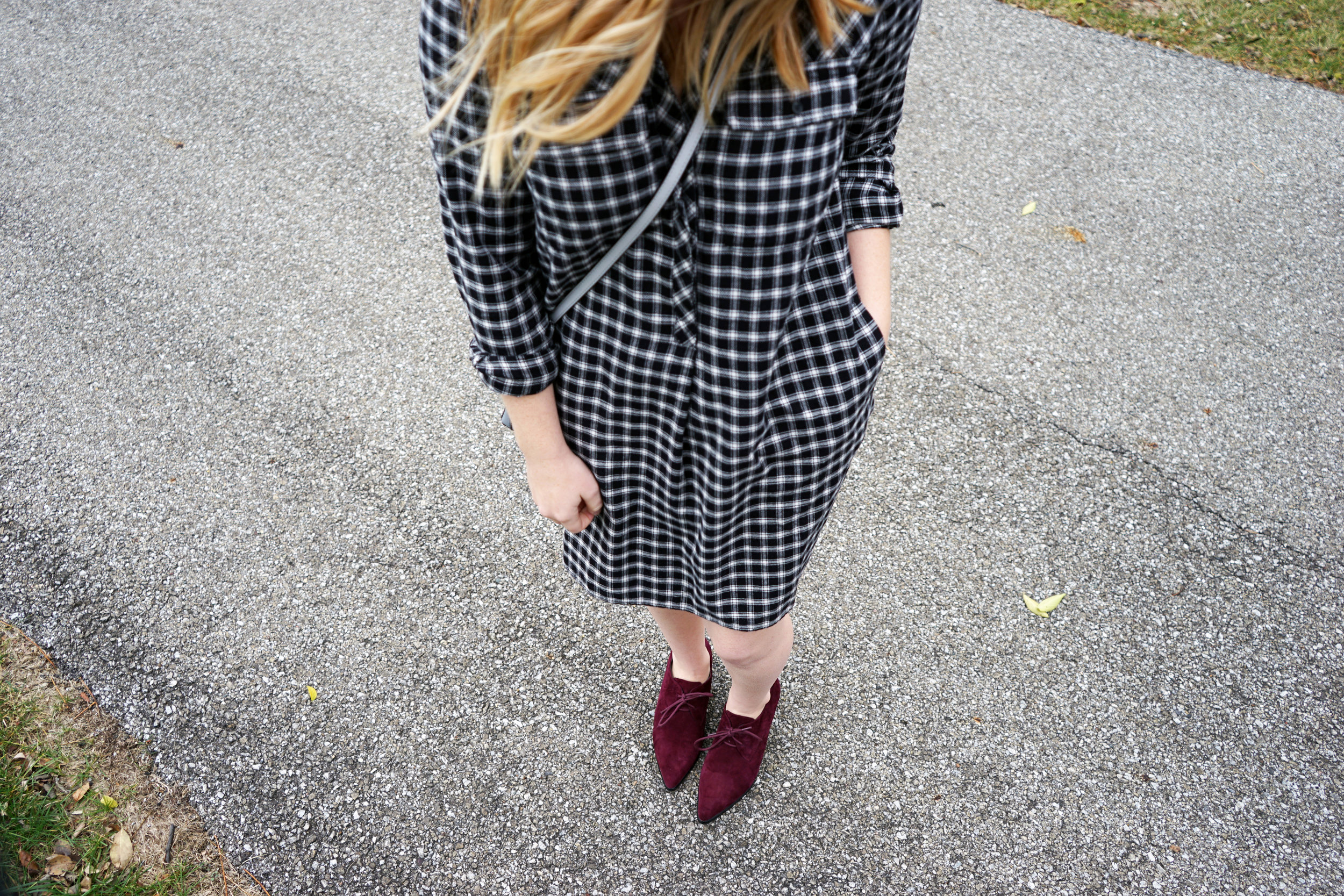 Maggie a la Mode - Madewell Flannel Shirtdress 7.JPG