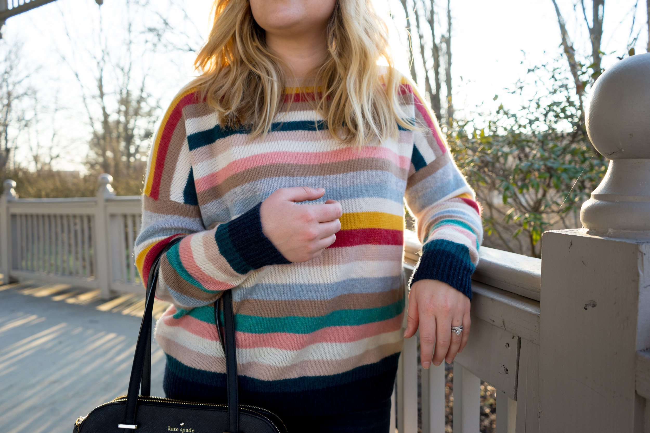 Maggie a la Mode - Naked Cashmere Phillipa Striped Sweater-7.jpg