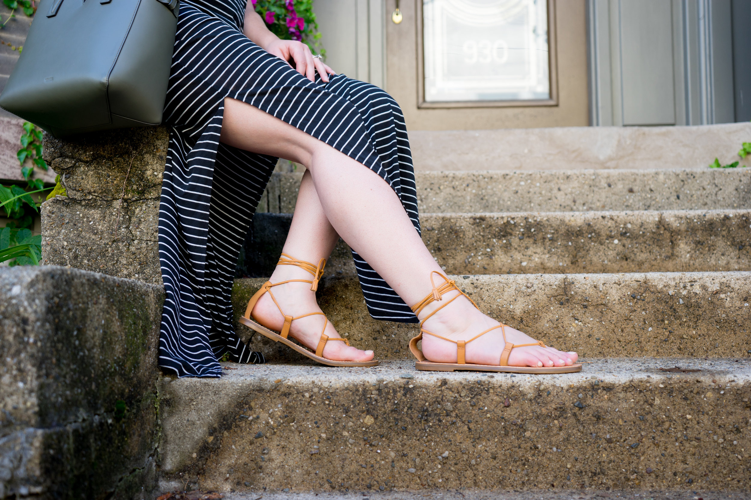 Lace-Up Sandals + Weekend Sales