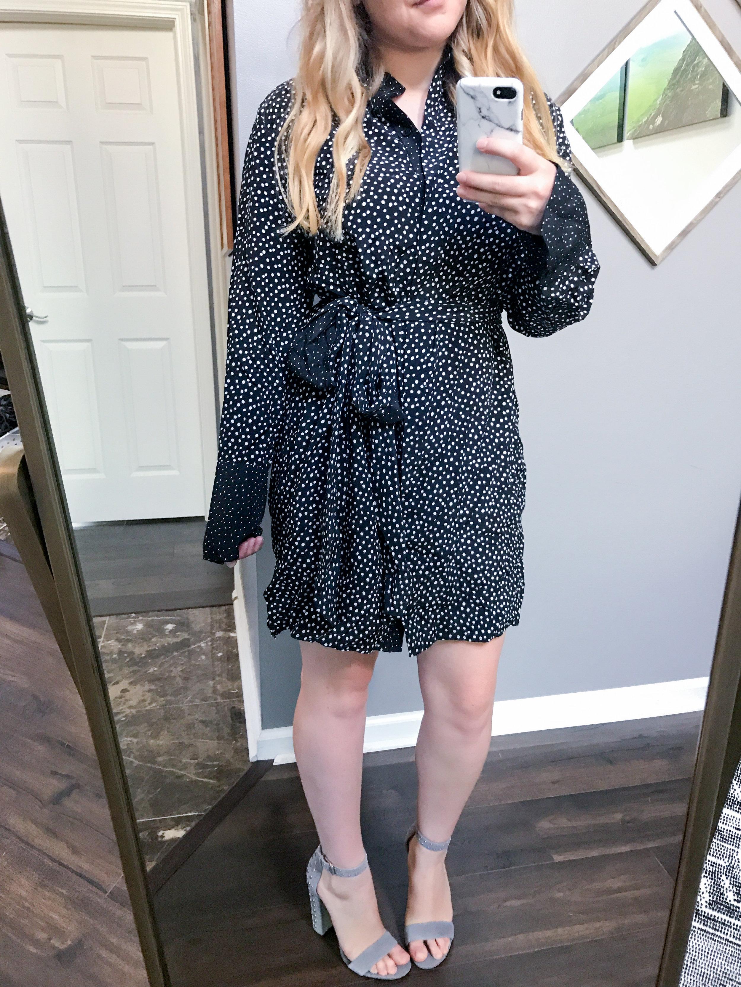 Maggie a la Mode - Diane Von Furstenberg Silk Shirtdress
