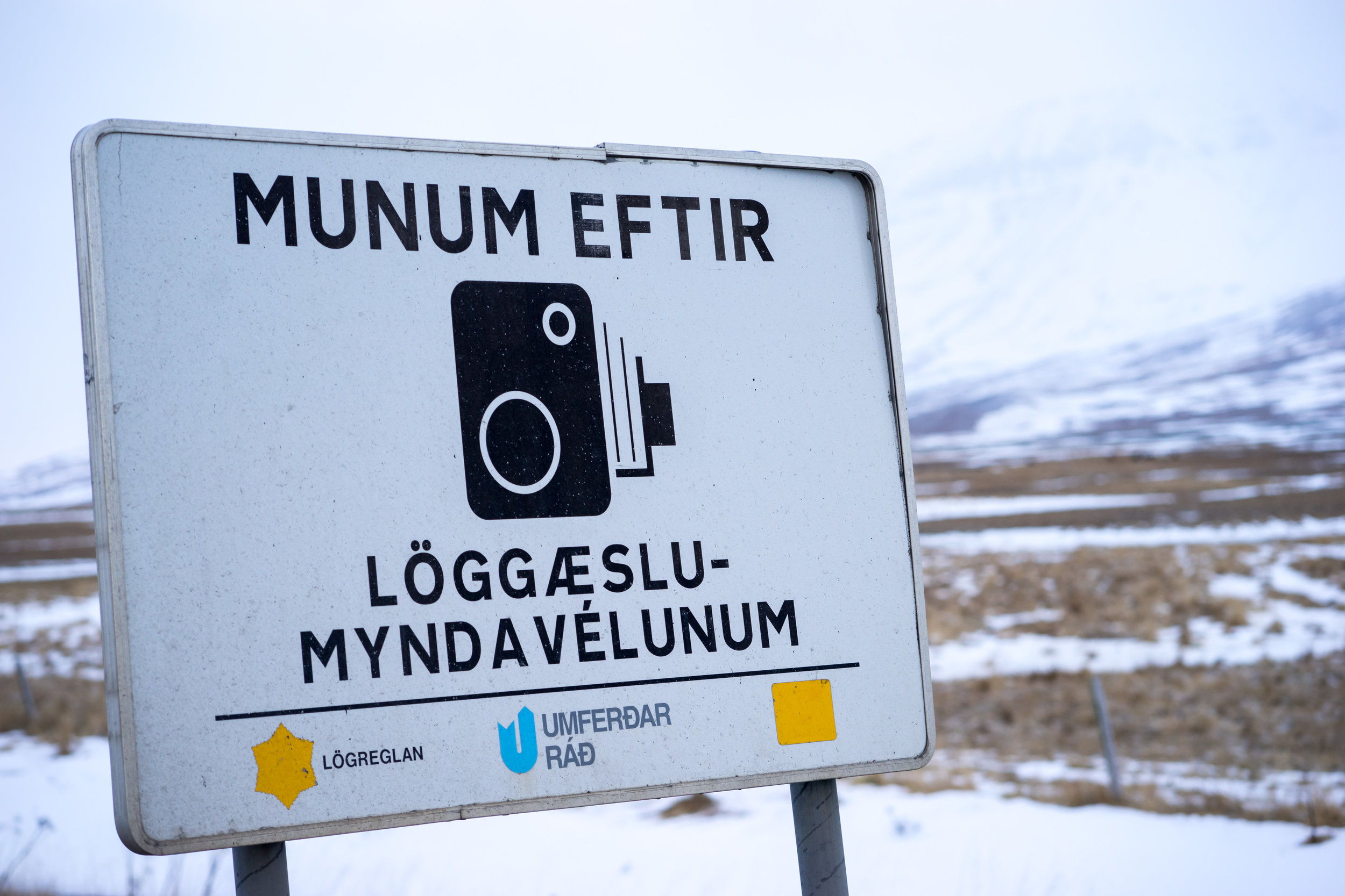 Maggie a la Mode - 9 Things No One Tells You About Roadtripping in Iceland Speed Camera Ticket.jpg