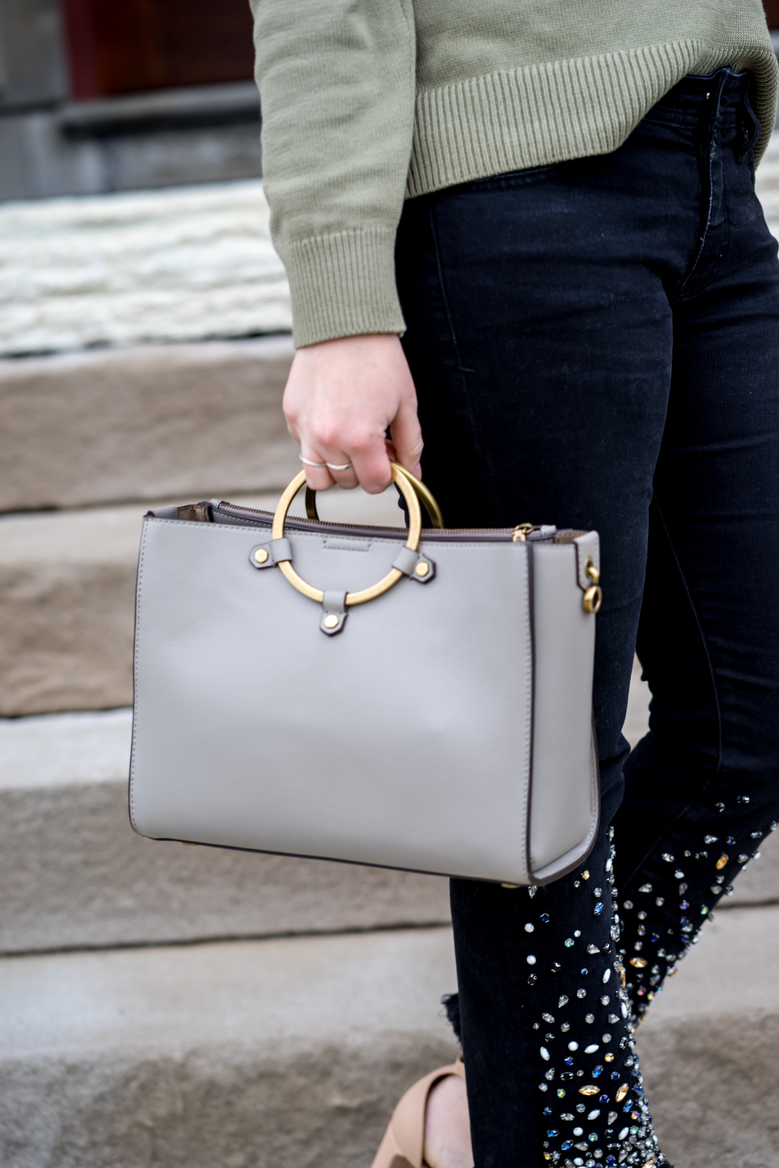 Maggie a la Mode - Ring Handle Purses I Am Loving Right Now Rebecca Minkoff Ring Satchel-8.jpg