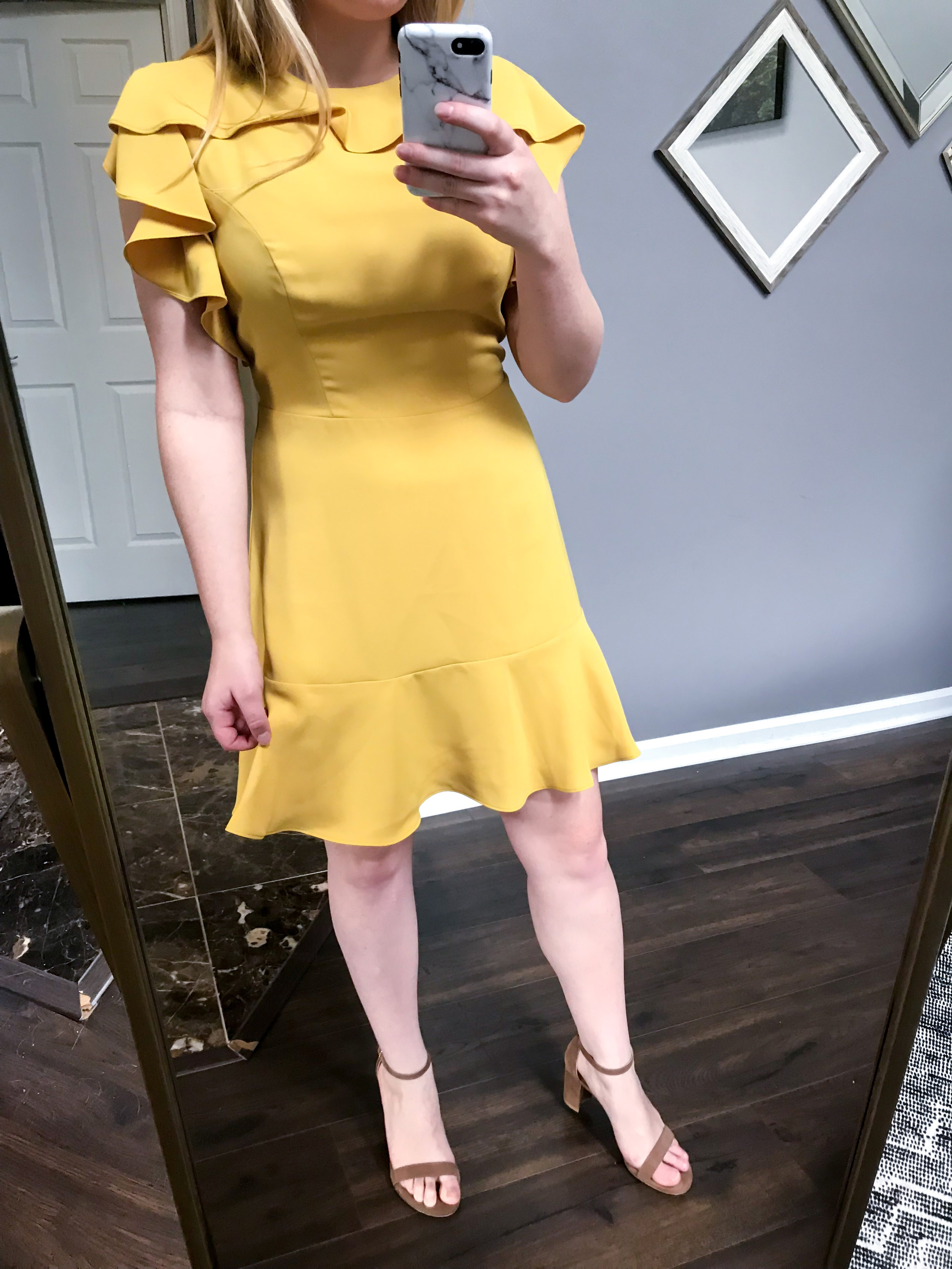 Maggie a la Mode - Recent Home Try-Ons Amanda Uprichard Emery Dress.jpg