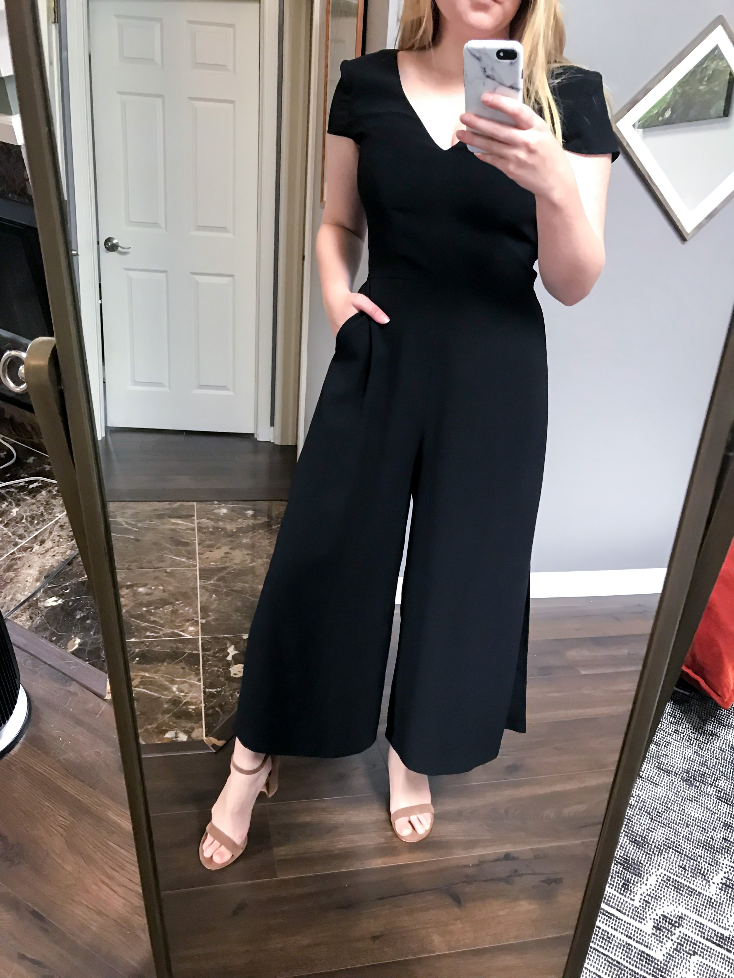Maggie a la Mode - Recent Home Try-Ons Amanda Uprichard Amery Jumpsuit.jpg