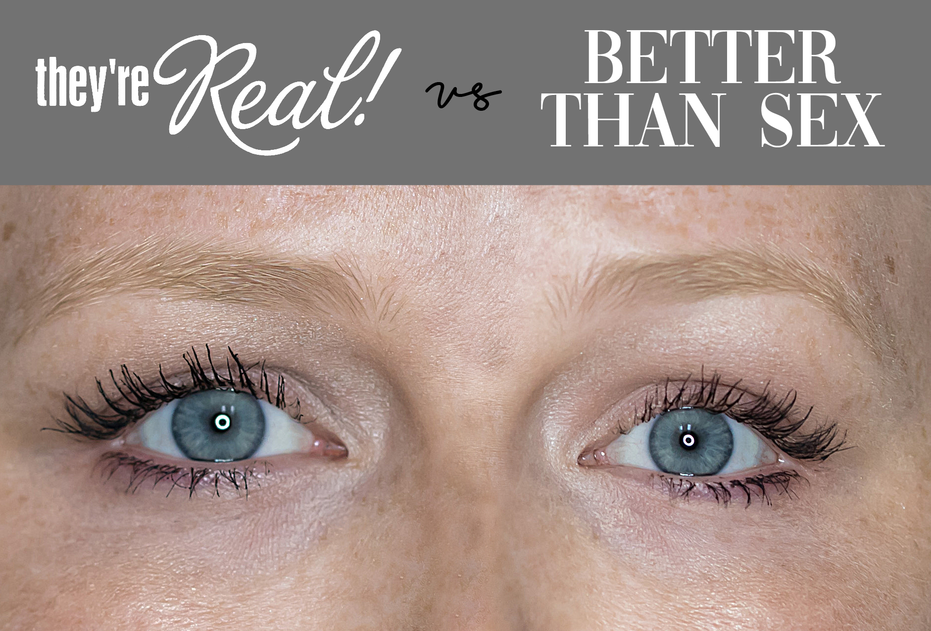 Maggie a la Mode - They're Real! Mascara by Benefit Cosmetics versus Better Than Sex Mascara by Too Faced Cosmetics