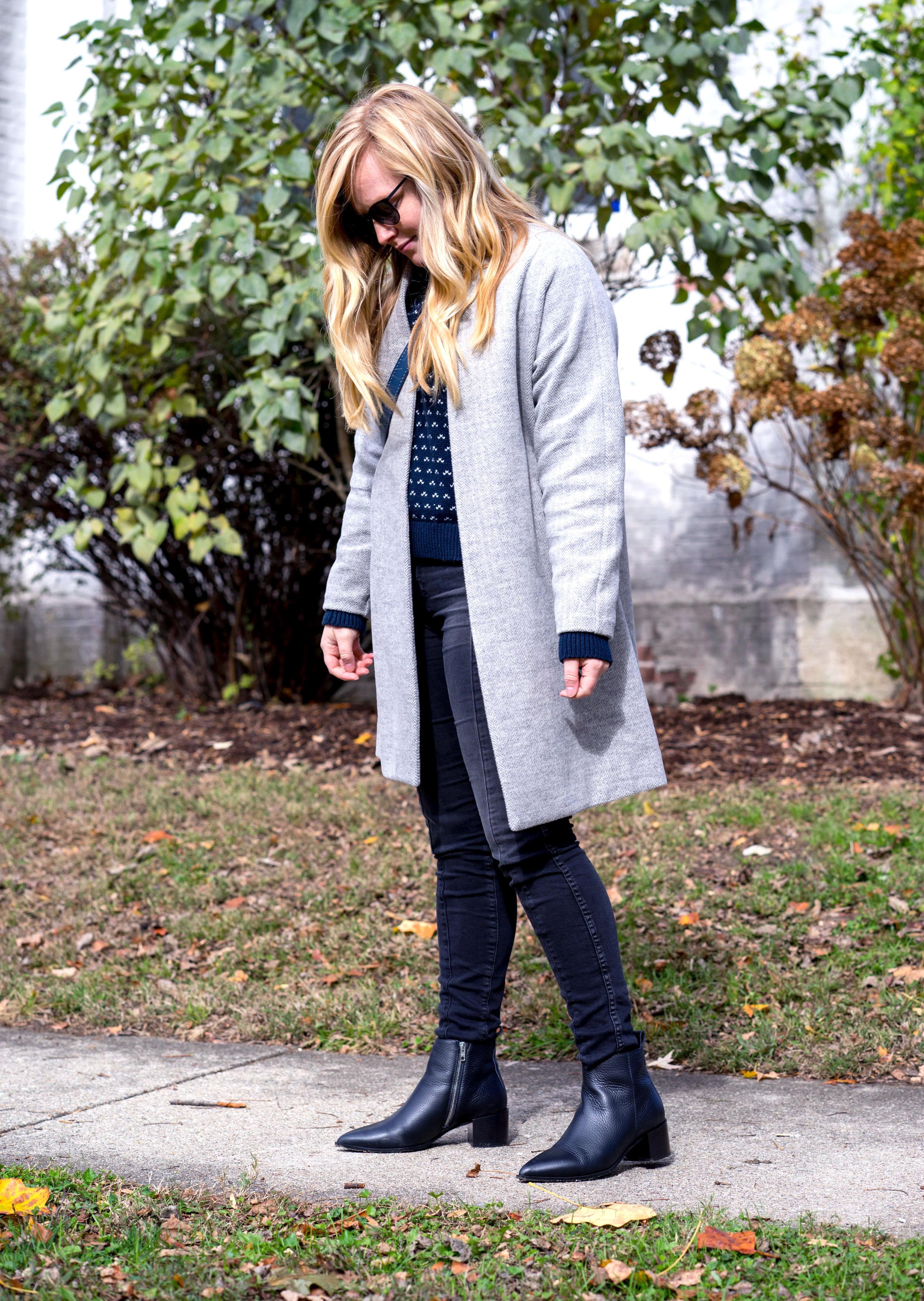 Maggie a la Mode - Most Popular Items 2018 Madewell Stanza Herringbone Coat
