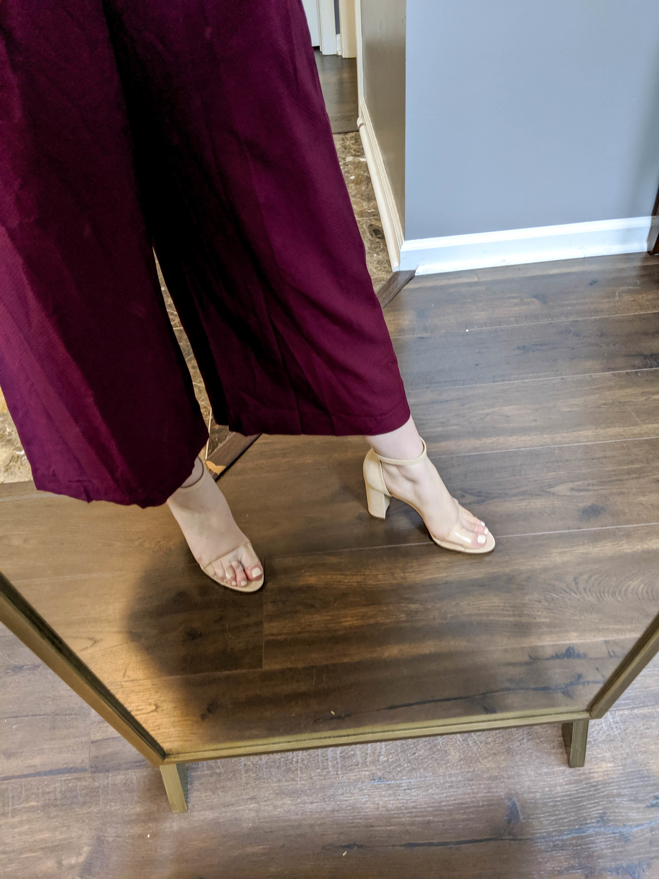 Maggie a la Mode 2019 Nordstrom Anniversary Sale Review Try On Real Body Gal Meets Glam Collection Luella Ruched Shoulder Crop Jumpsuit