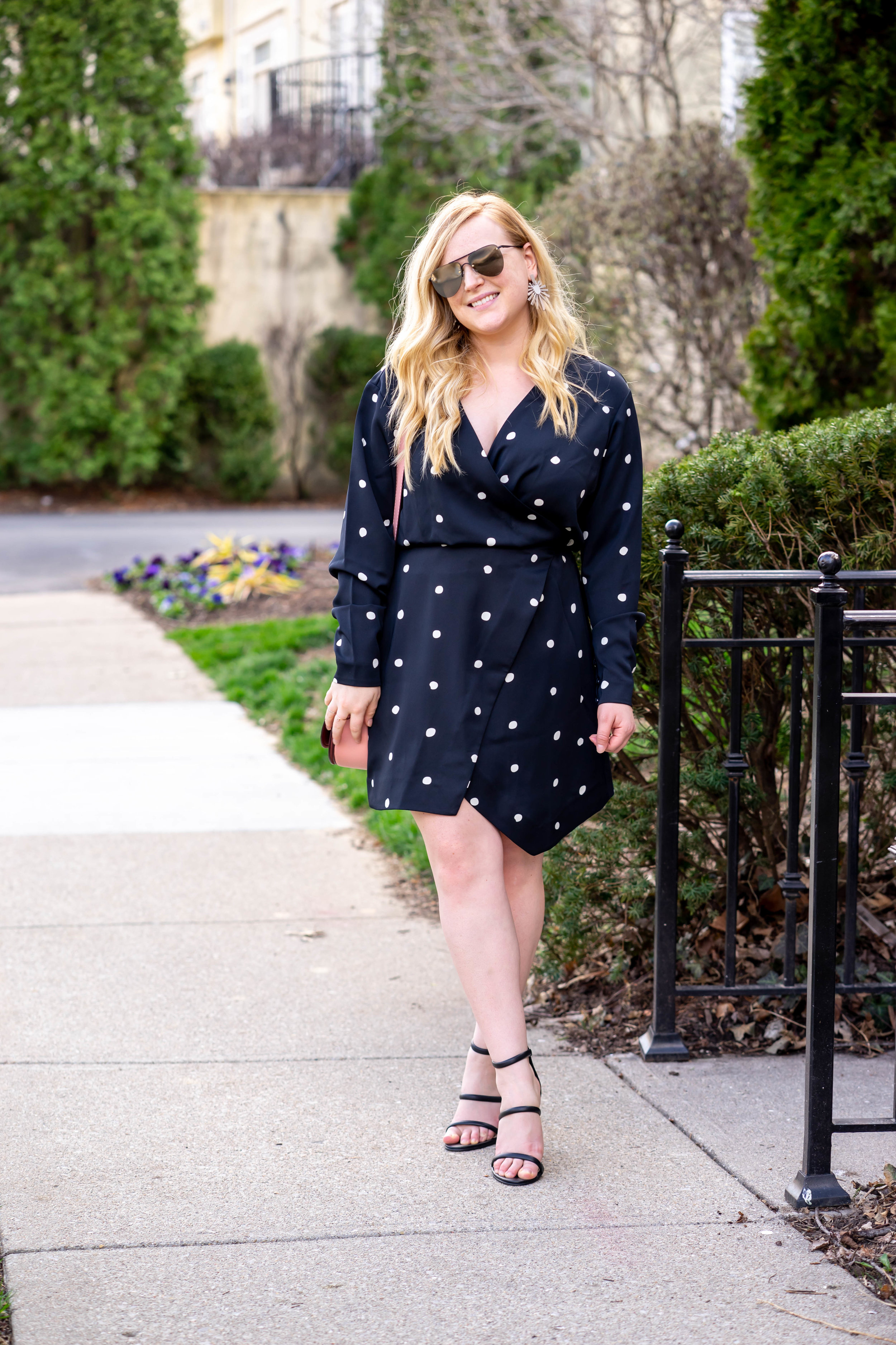 Maggie a la Mode Polka Dot Dress & Other Stories Best Labor Day Sales 2019
