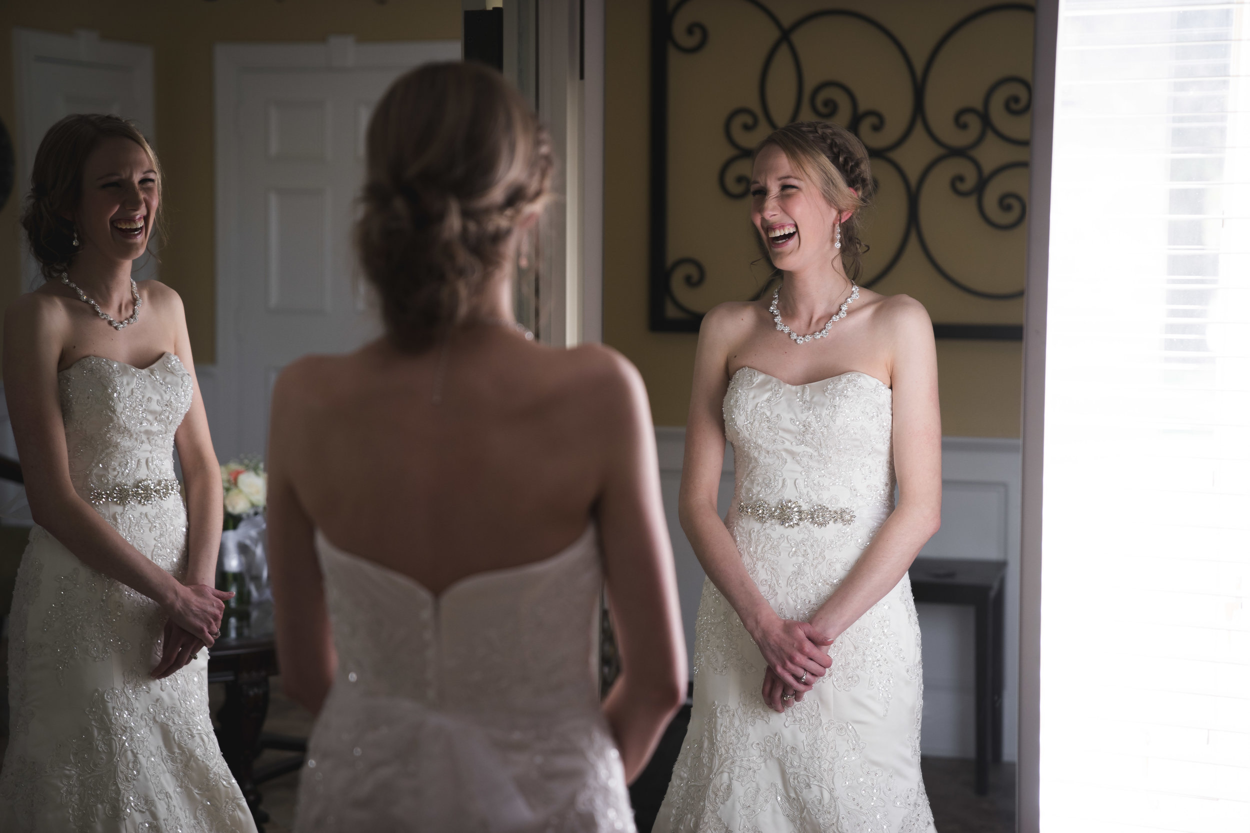 Greenville Wedding | Morningside Baptist Church Spartanburg SC Getting ready