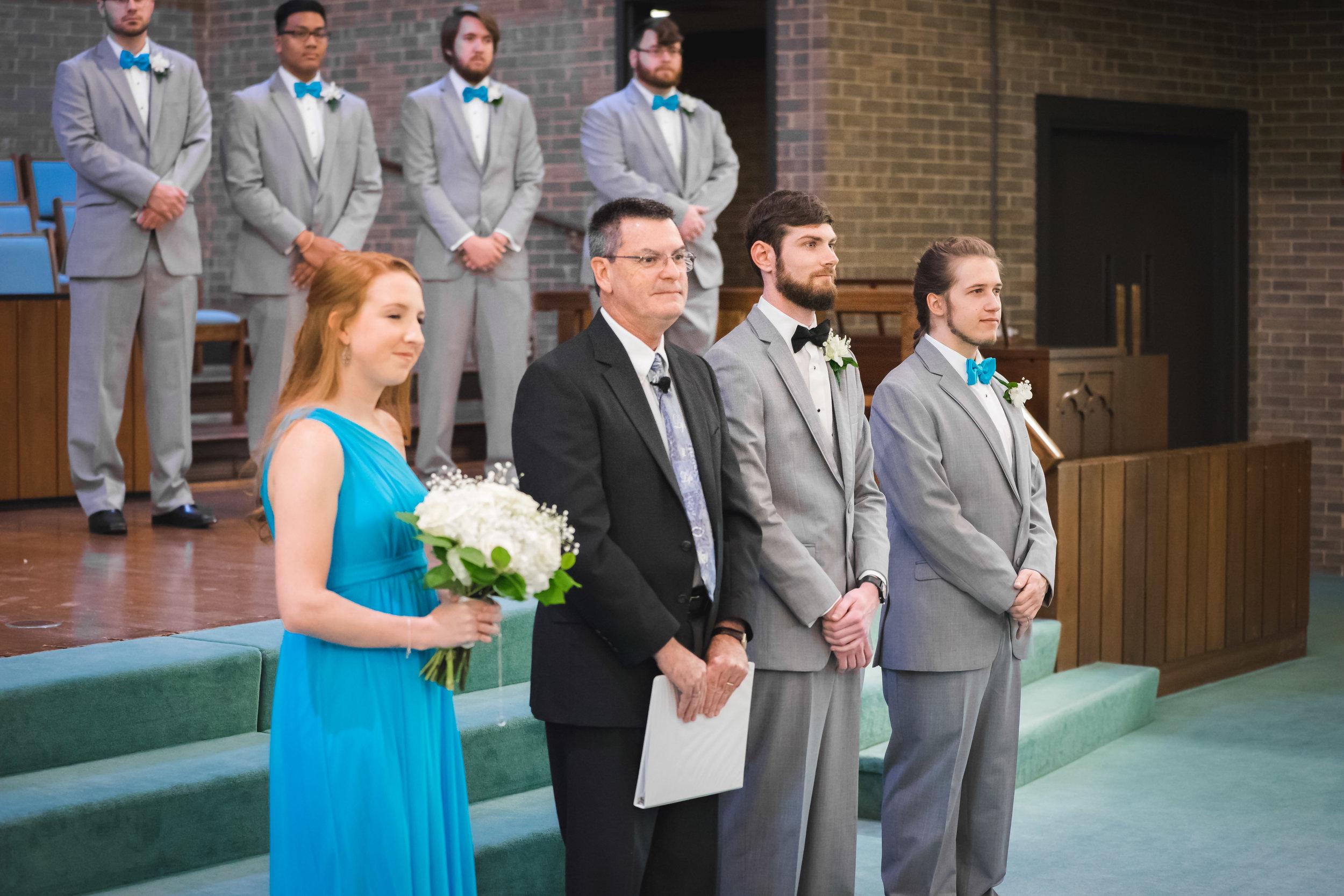 Greenville Wedding | Morningside Baptist Church Spartanburg SC Ceremony