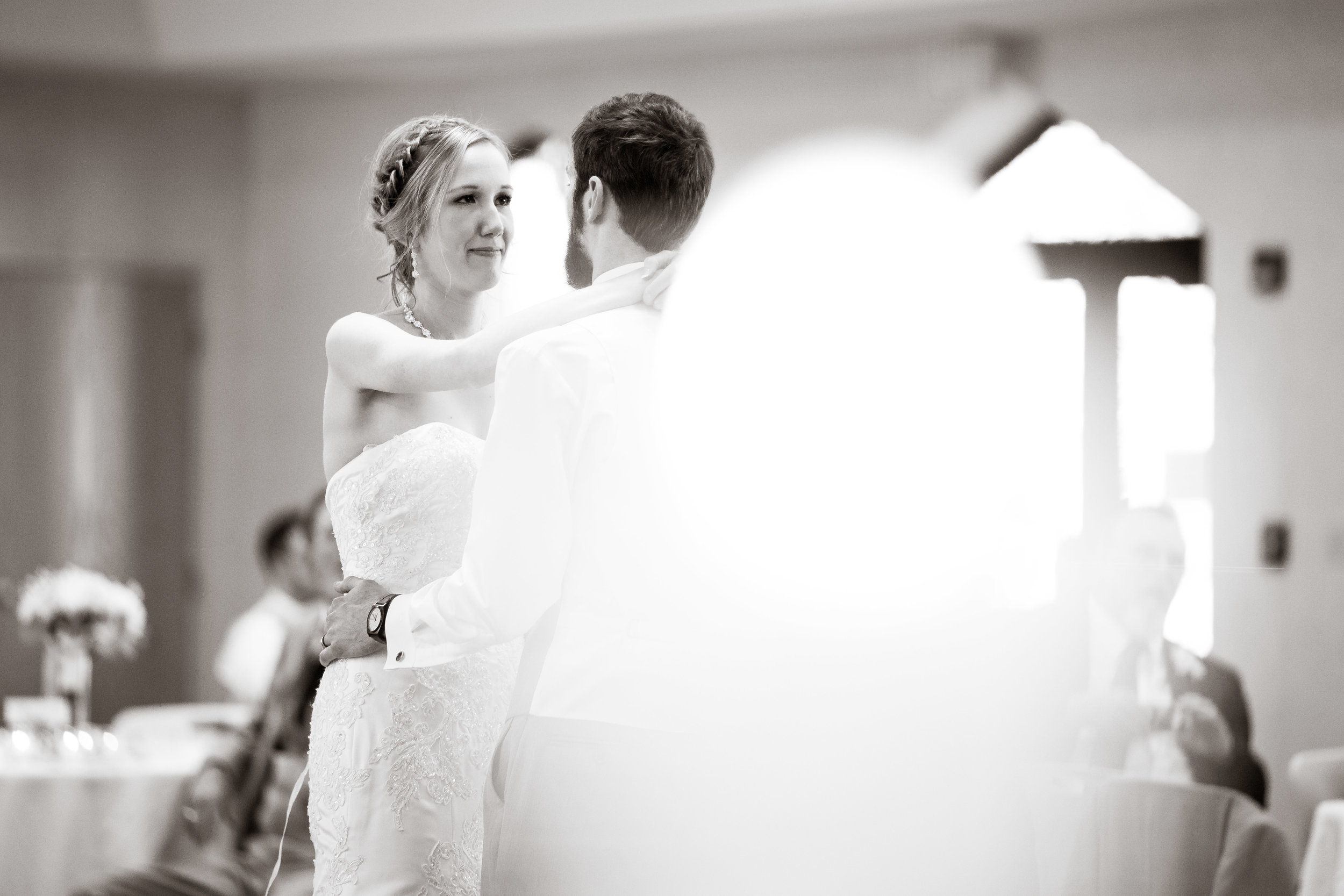 Greenville Wedding | Morningside Baptist Church Spartanburg SC First Dance