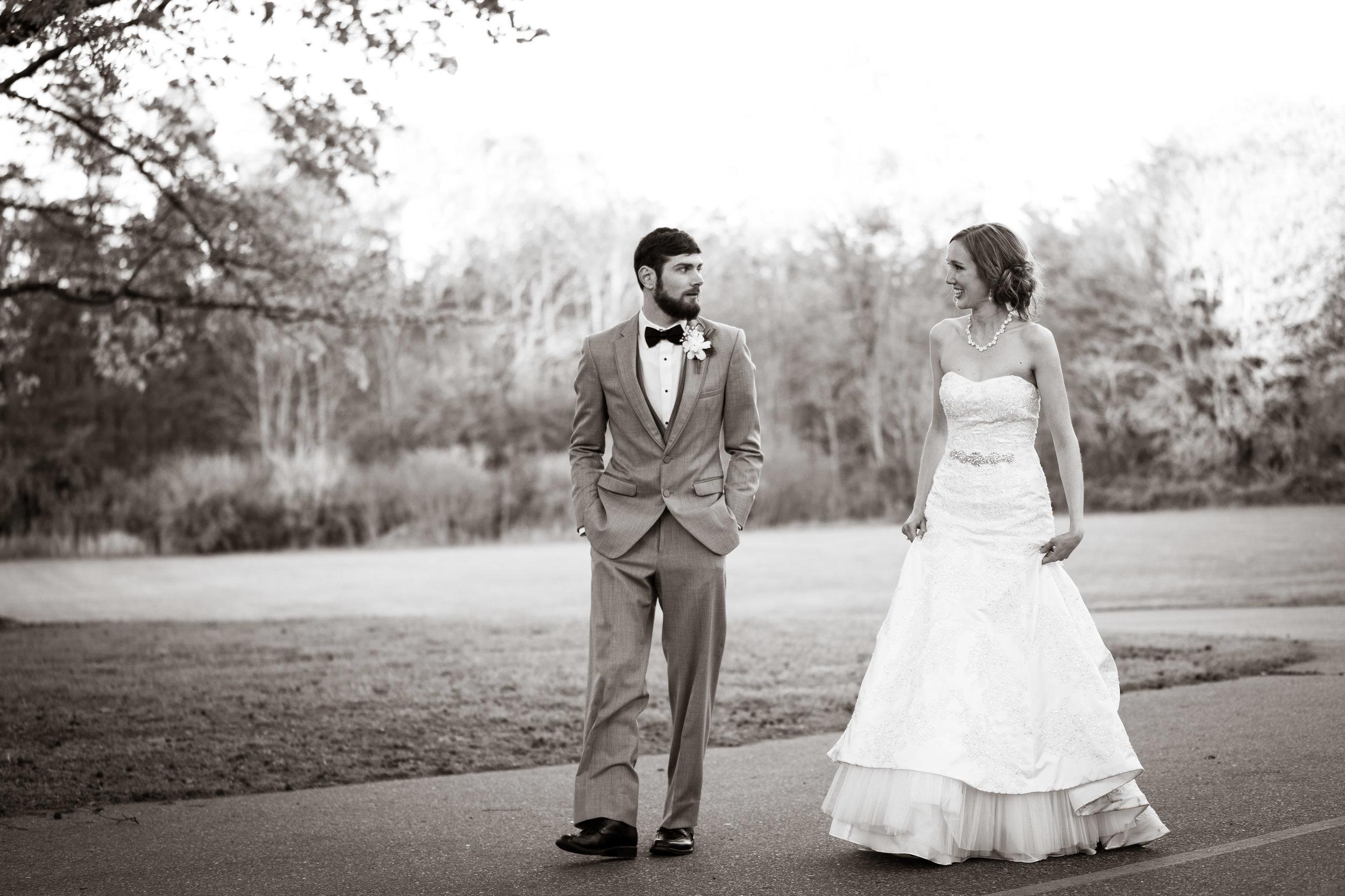 Greenville Wedding | Morningside Baptist Church Spartanburg SC Bride and Groom