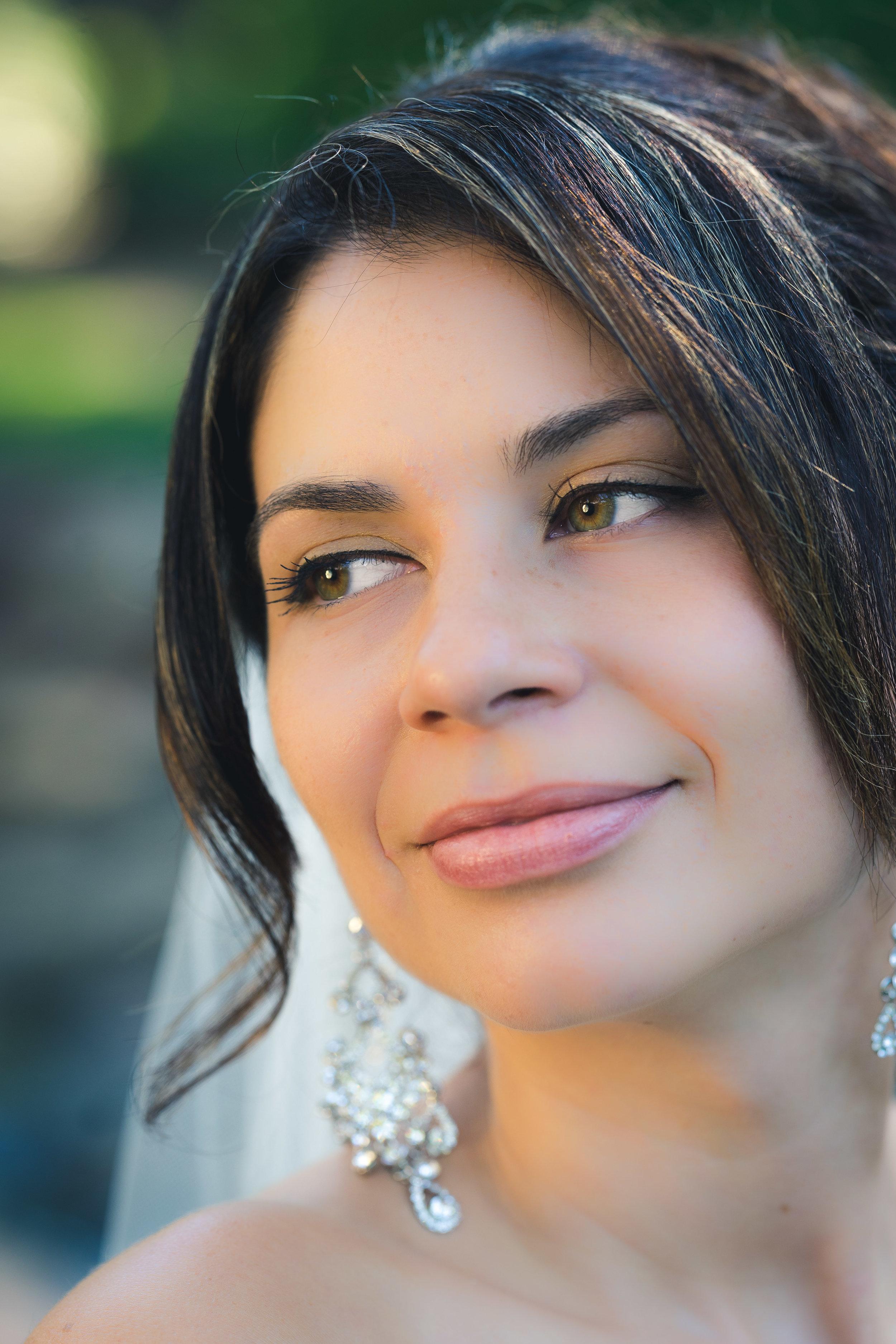 Bride in Rock Quarry Garden