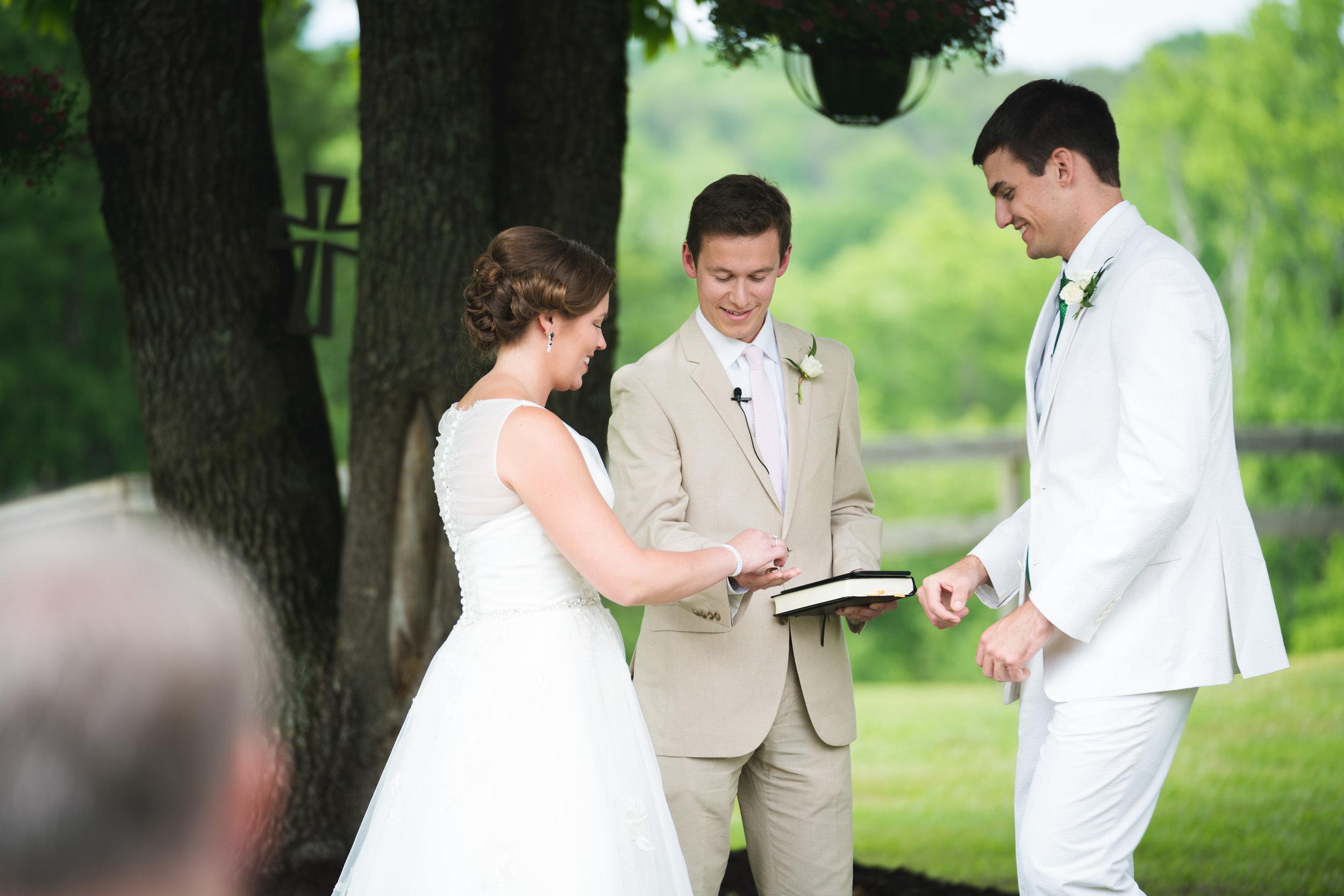 Wedding   Viewpoint at Buckhorn Creek in Greenville, SC