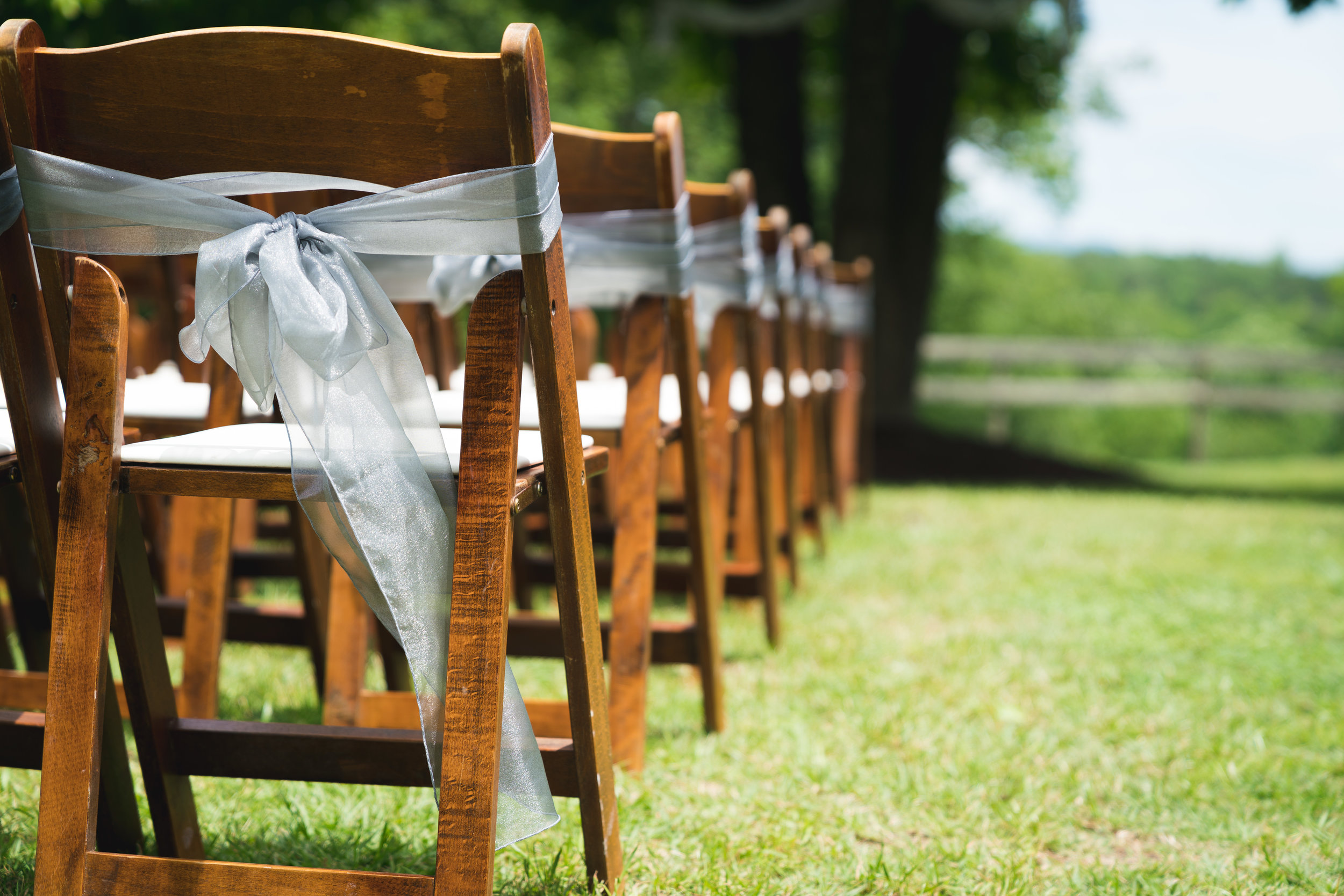 Ceremony chairs - Viewpoint at Buckhorn Creek | Greenville, SC