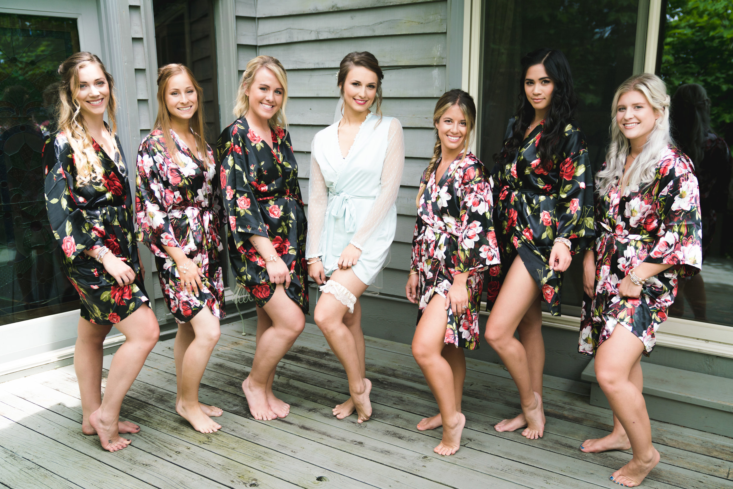 The bridal party - Viewpoint at Buckhorn Creek | Greenville, SC